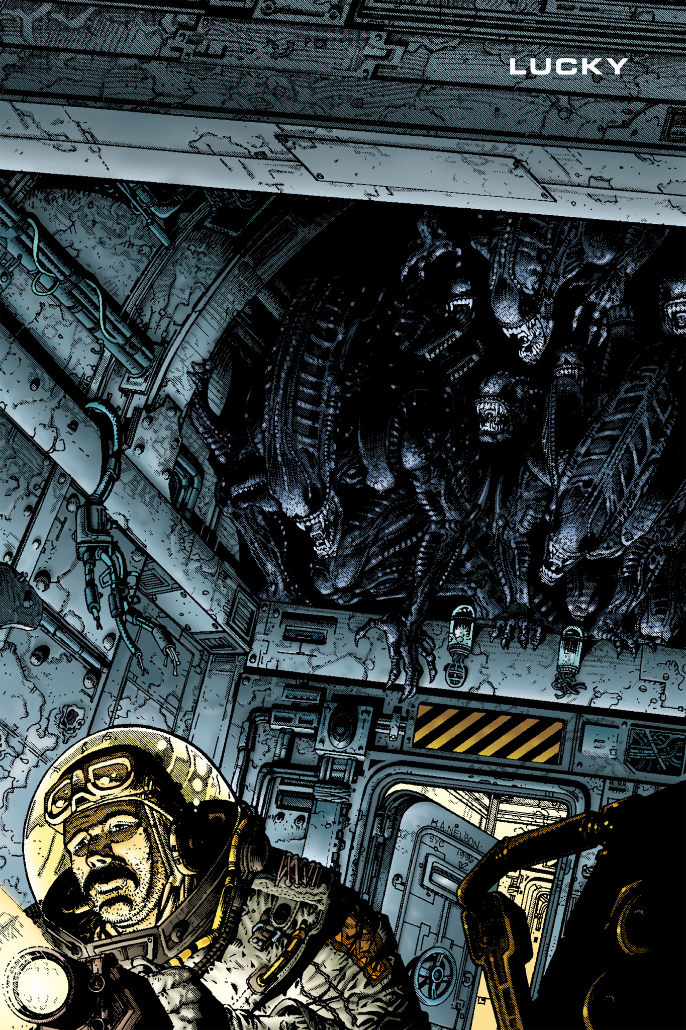 Read online Aliens: Incubation/Lucky/Taste comic -  Issue # Full - 16