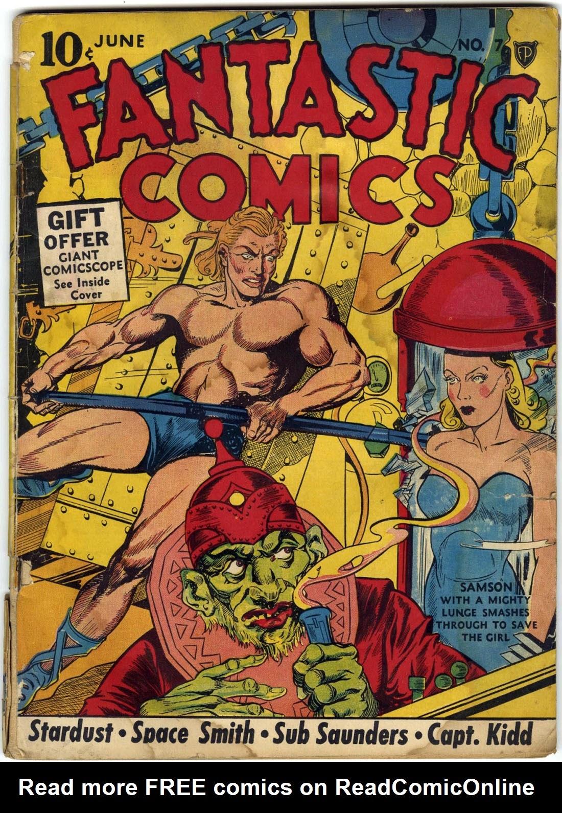 Fantastic Comics 7 Page 1