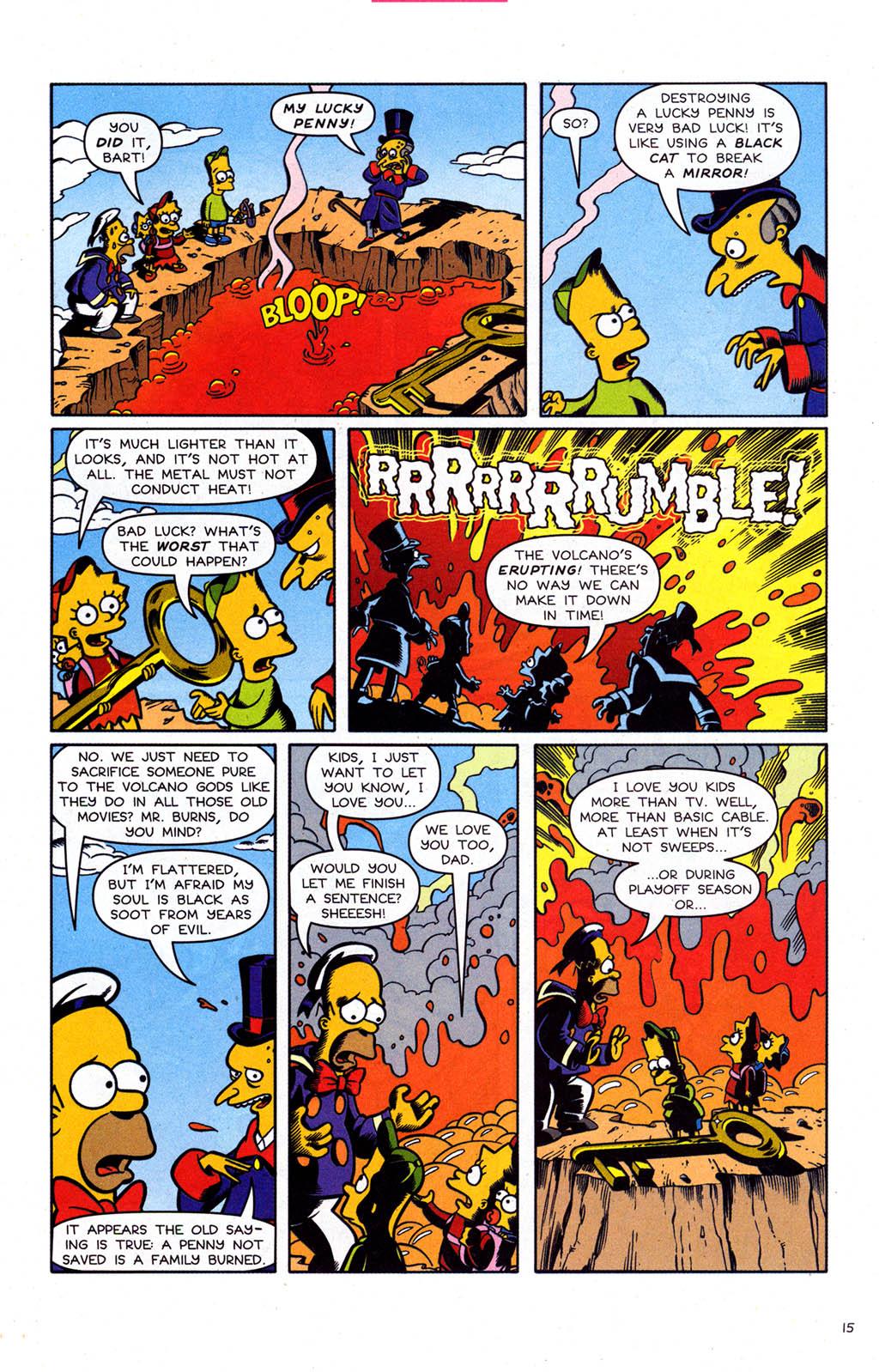 Read online Simpsons Comics comic -  Issue #102 - 16