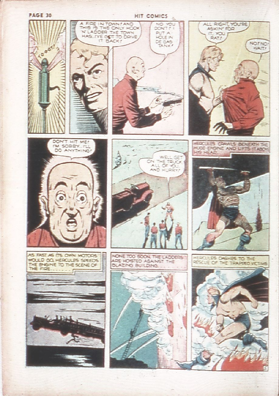 Read online Hit Comics comic -  Issue #7 - 32