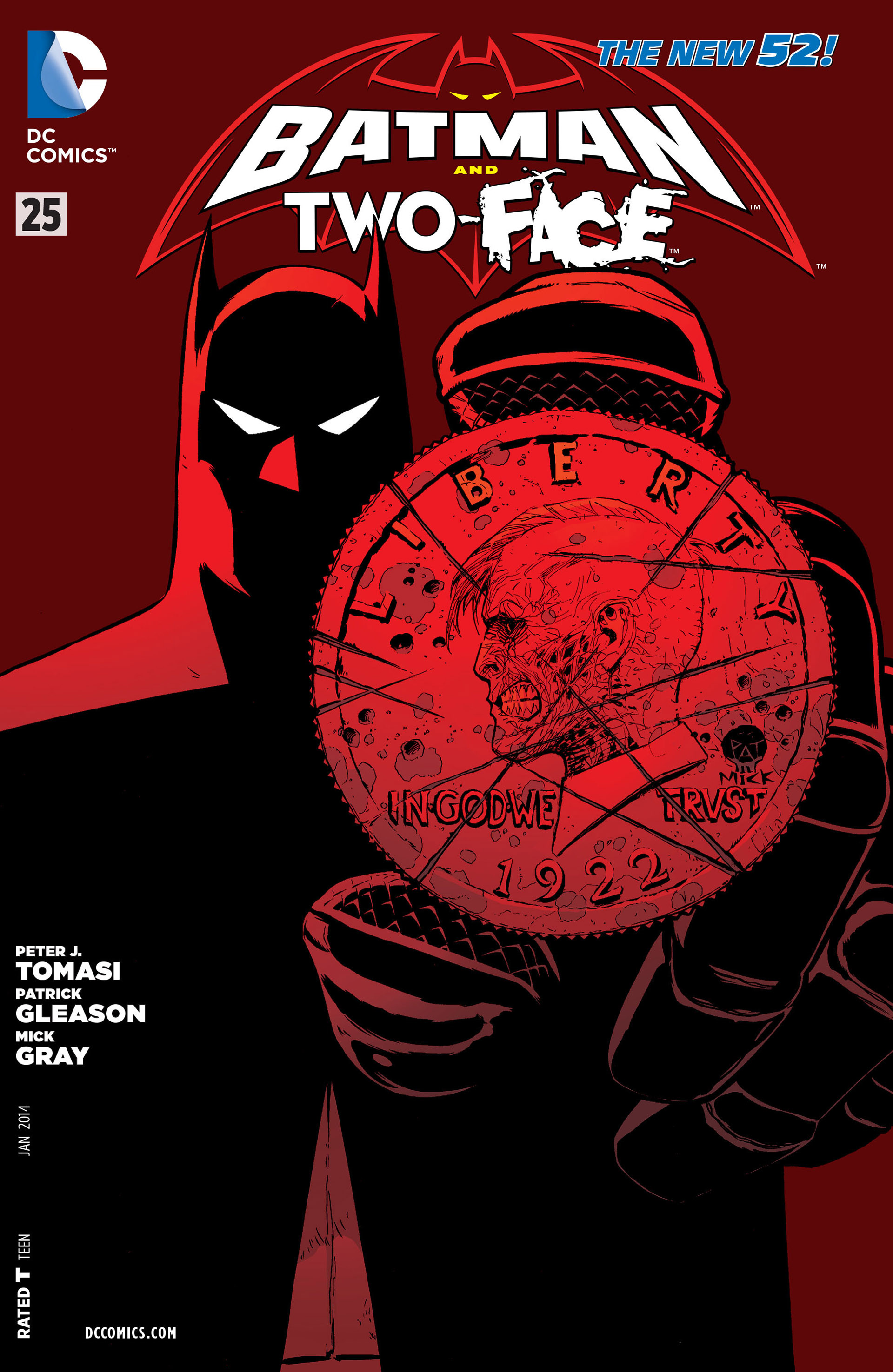 Read online Batman and Robin (2011) comic -  Issue #25 - Batman and Two-Face - 1