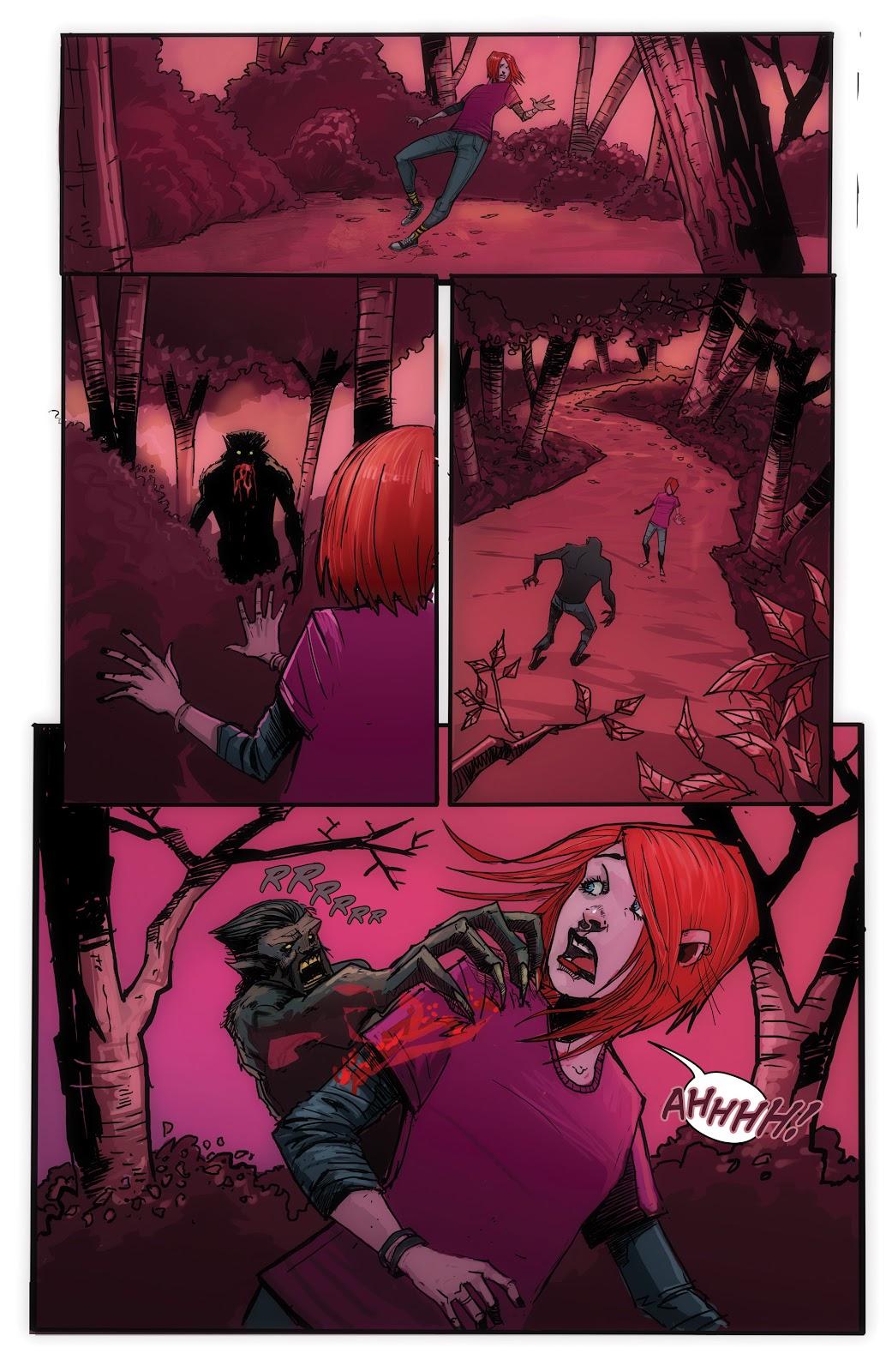 Read online John Carpenter Presents Storm Kids: Monica Bleue: A Werewolf Story comic -  Issue #1 - 22