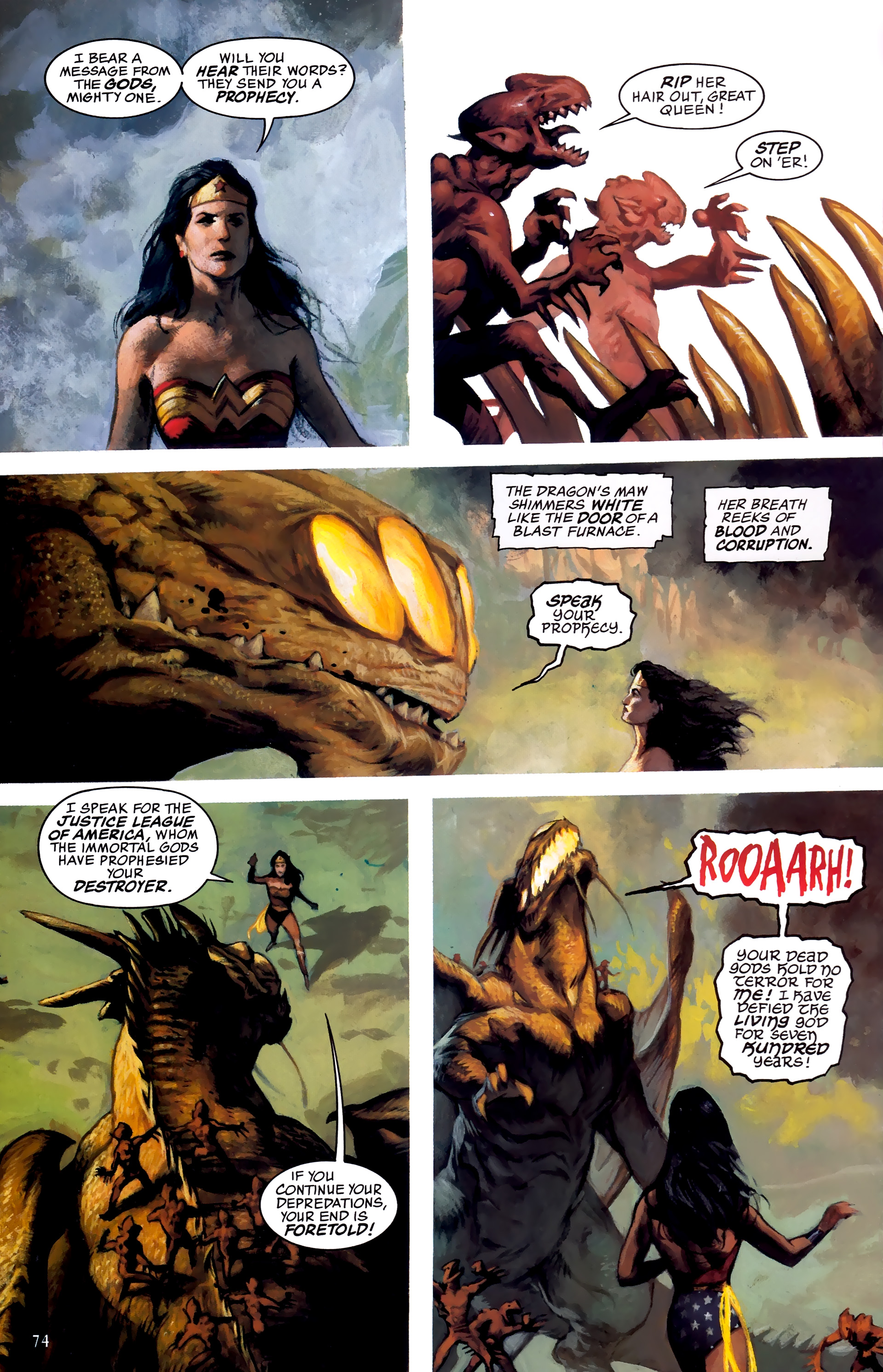 Read online JLA: A League of One comic -  Issue # Full - 81