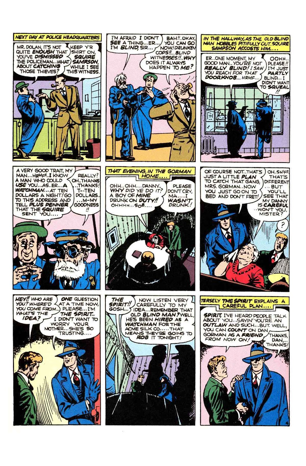 Read online Will Eisner's The Spirit Archives comic -  Issue # TPB 2 (Part 1) - 12