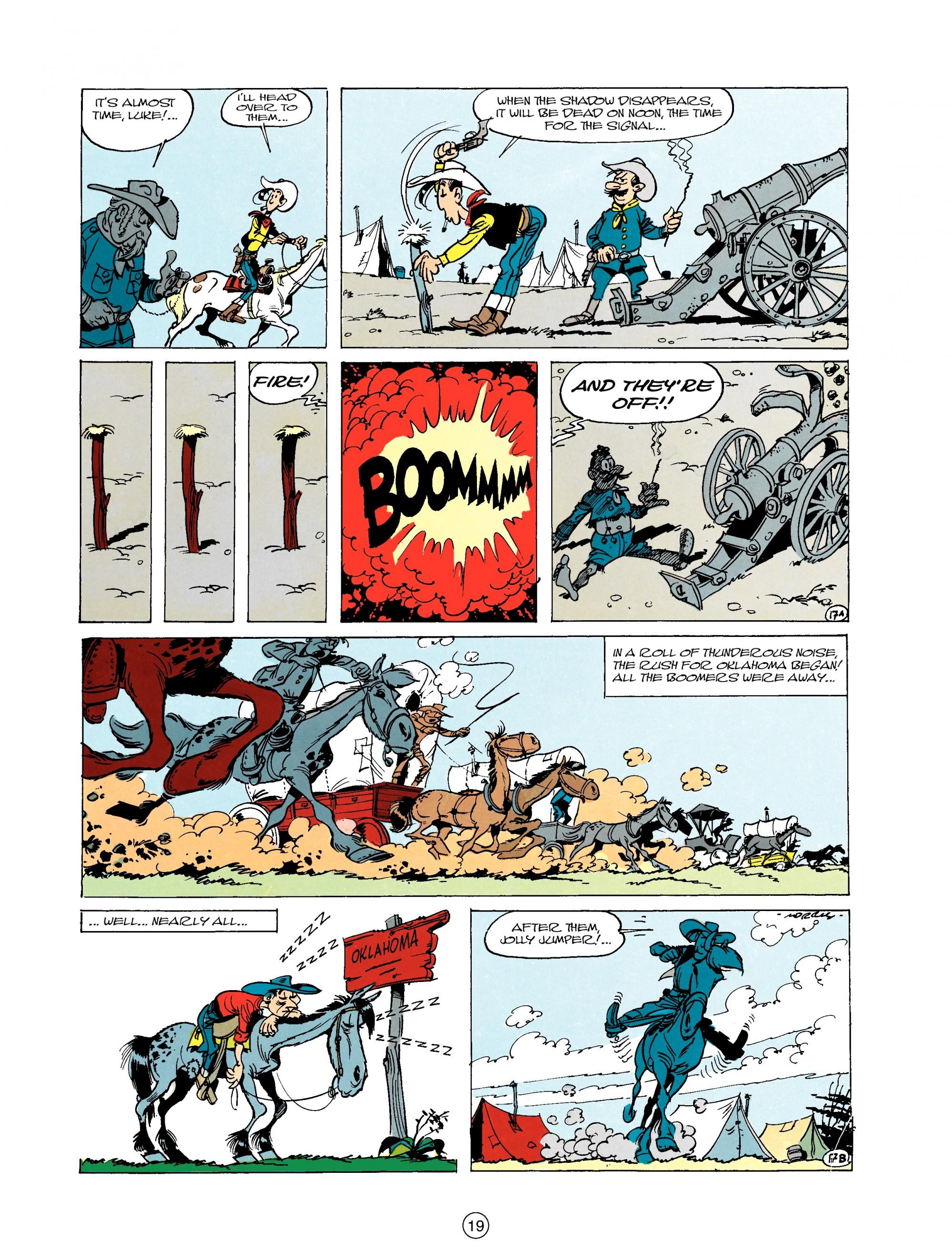 Read online A Lucky Luke Adventure comic -  Issue #20 - 19