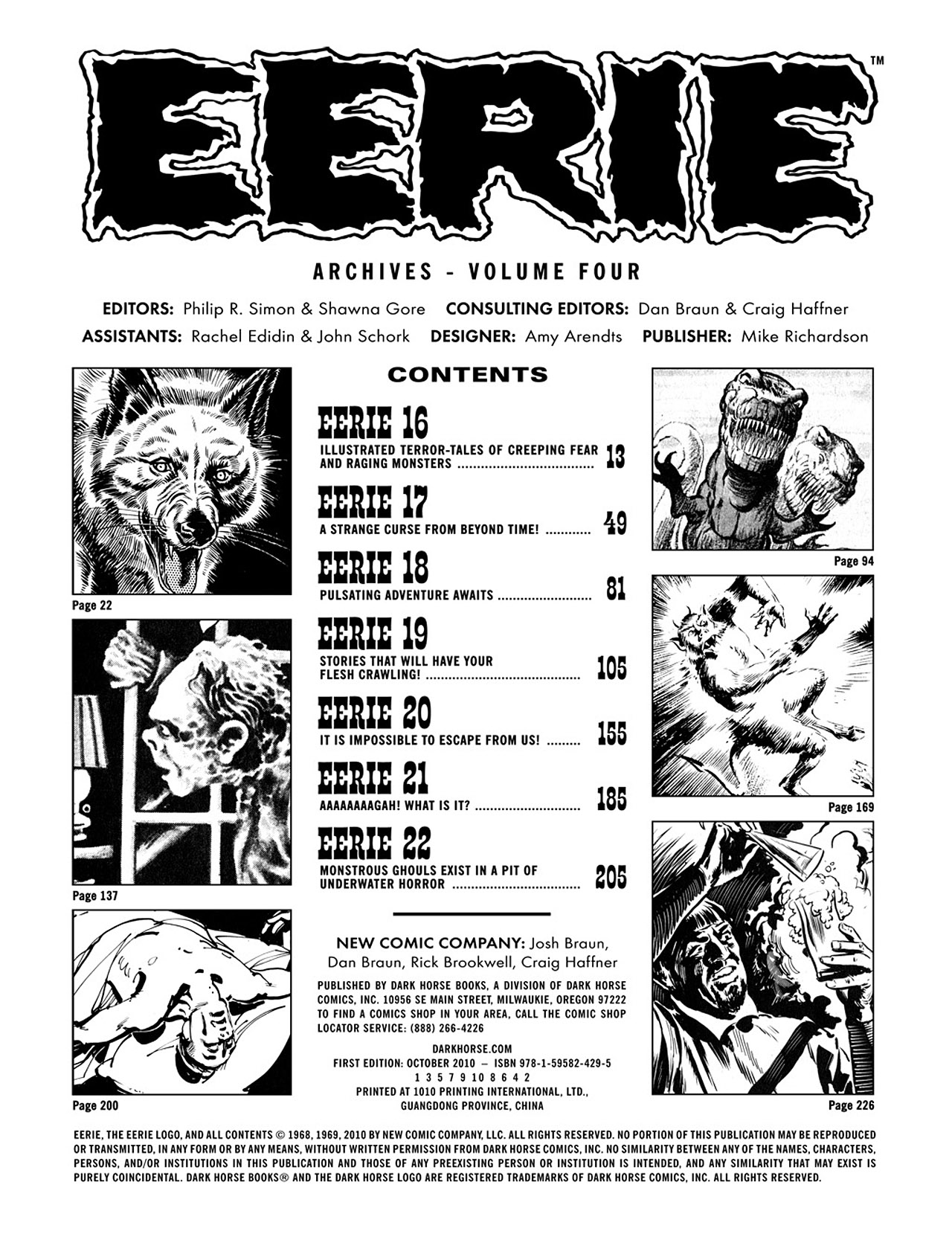Read online Eerie Archives comic -  Issue # TPB 4 - 4