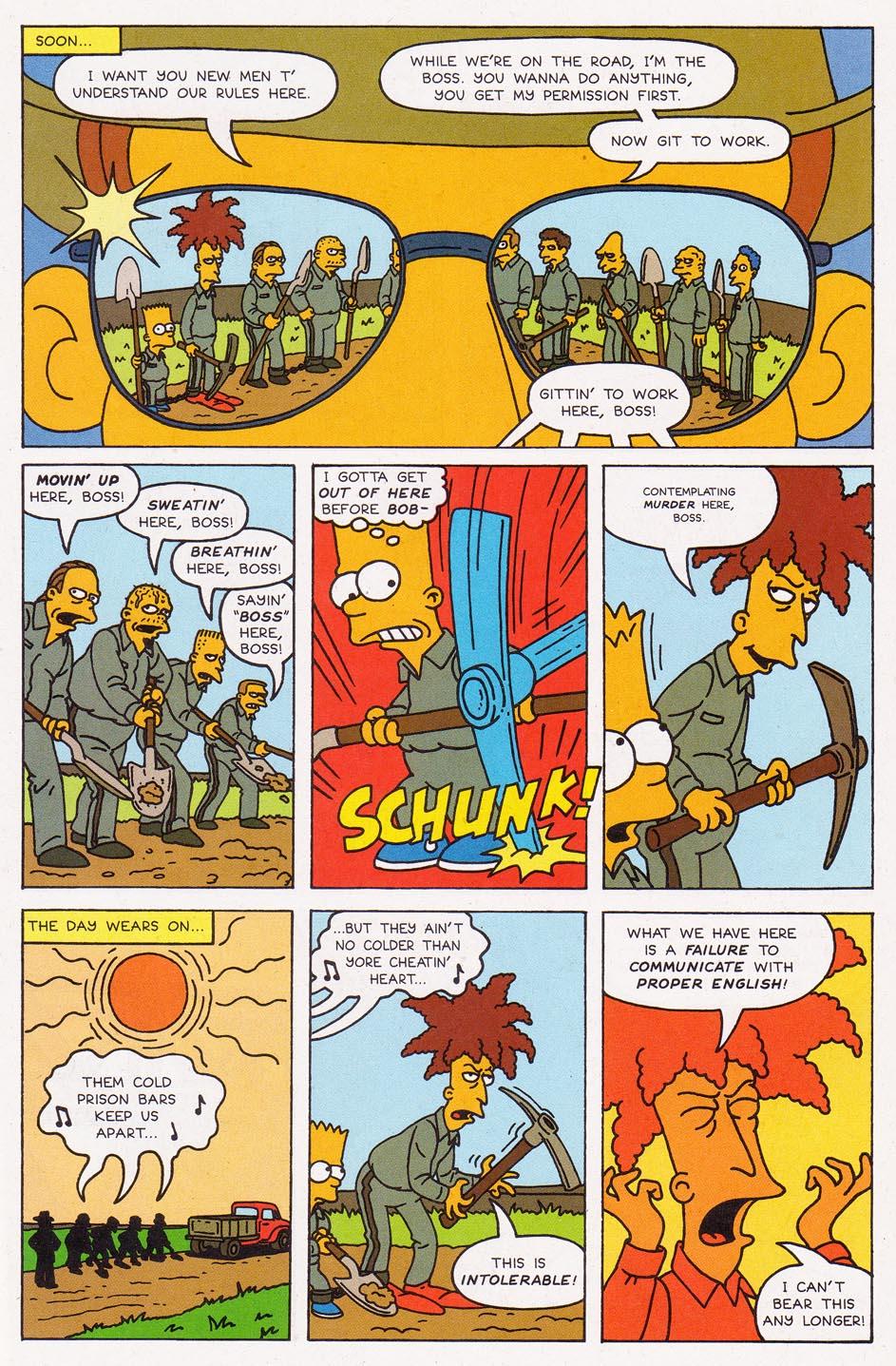 Read online Simpsons Comics comic -  Issue #2 - 16