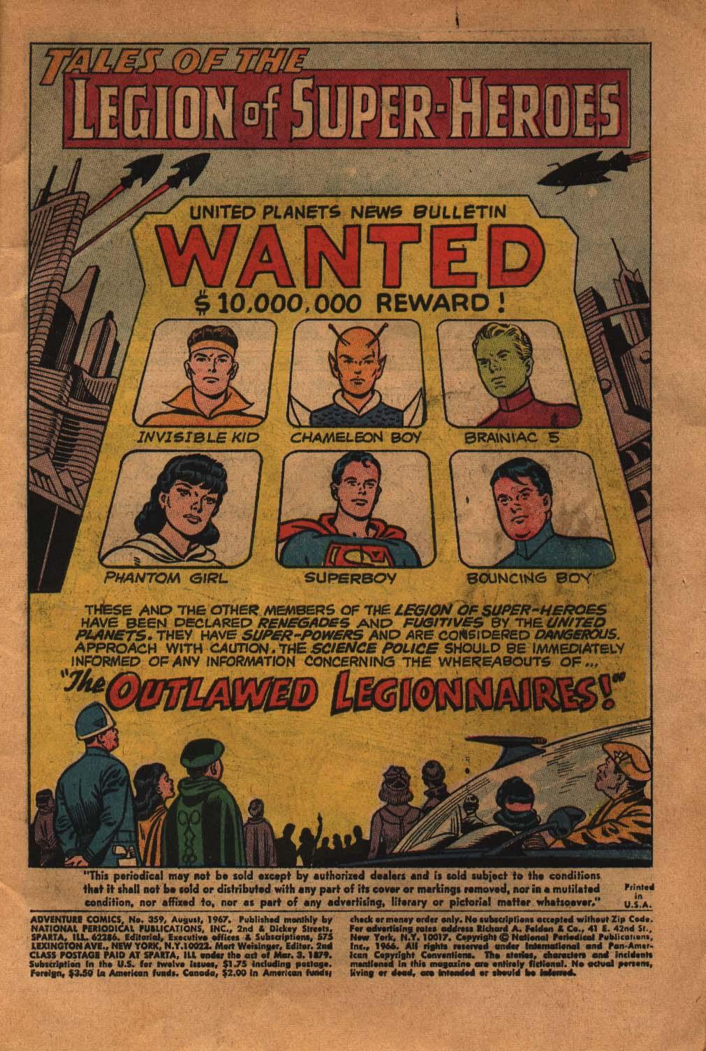 Read online Adventure Comics (1938) comic -  Issue #359 - 3