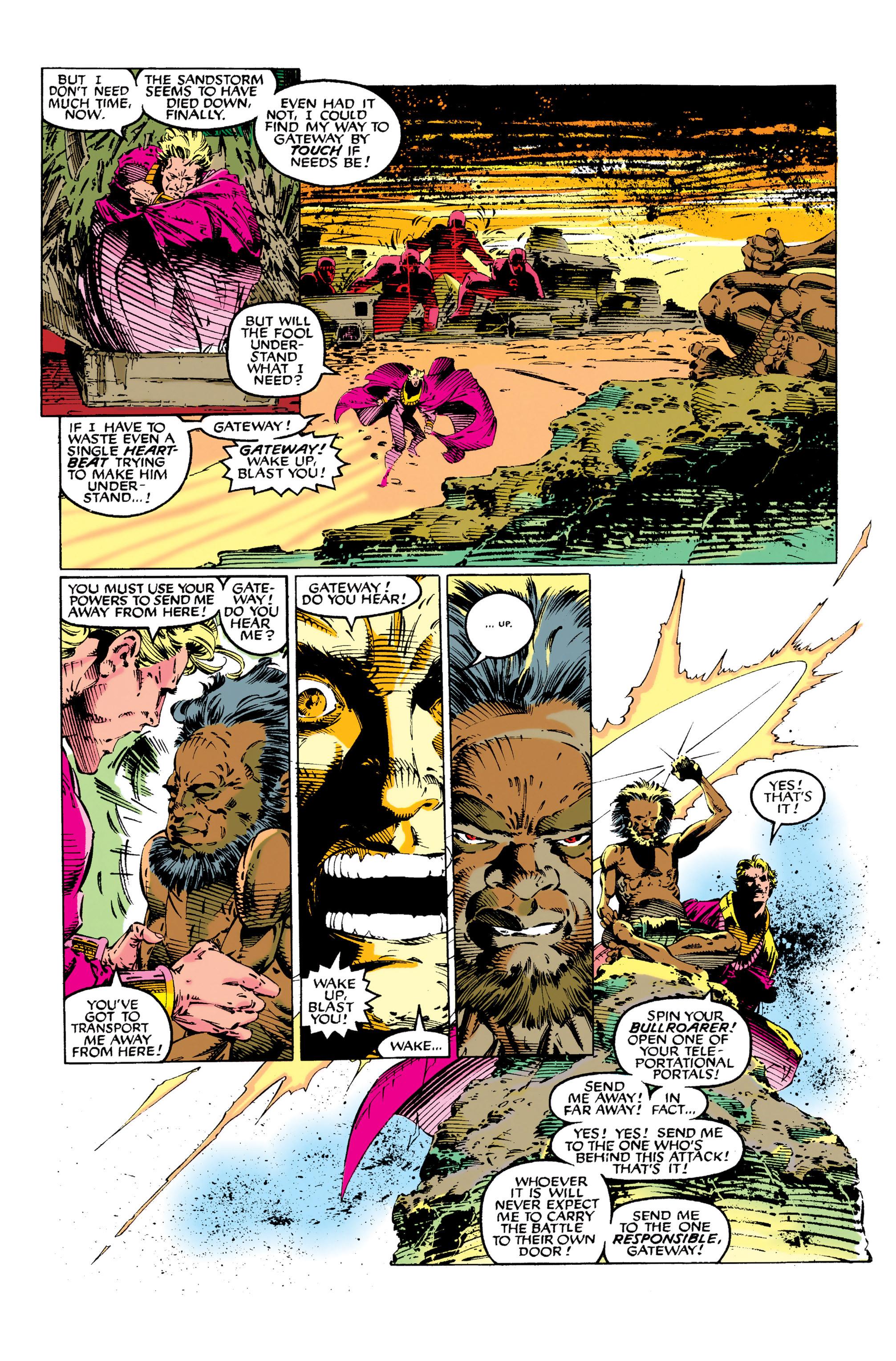 Read online Uncanny X-Men (1963) comic -  Issue #281 - 14