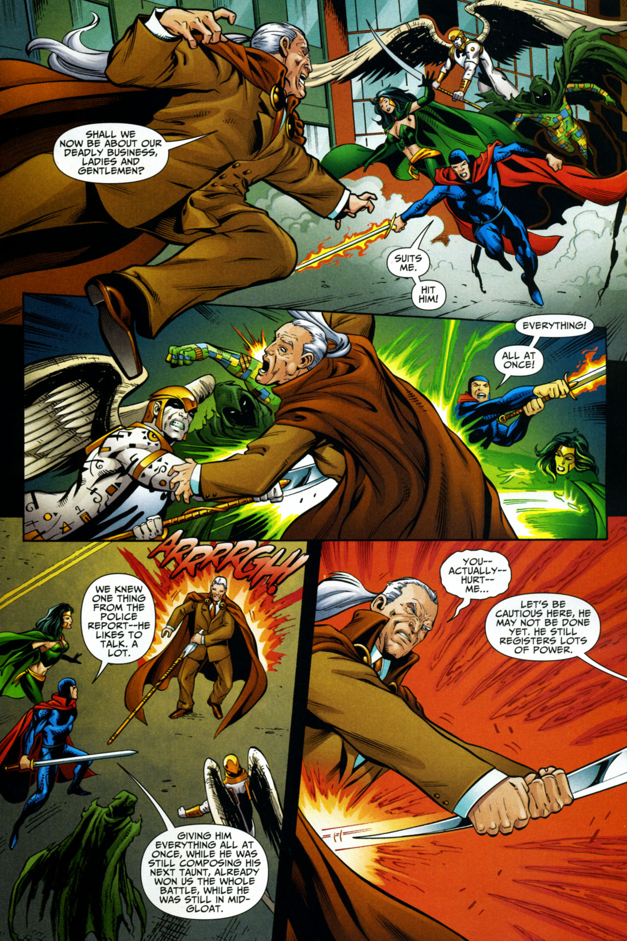 Read online Shadowpact comic -  Issue #15 - 15