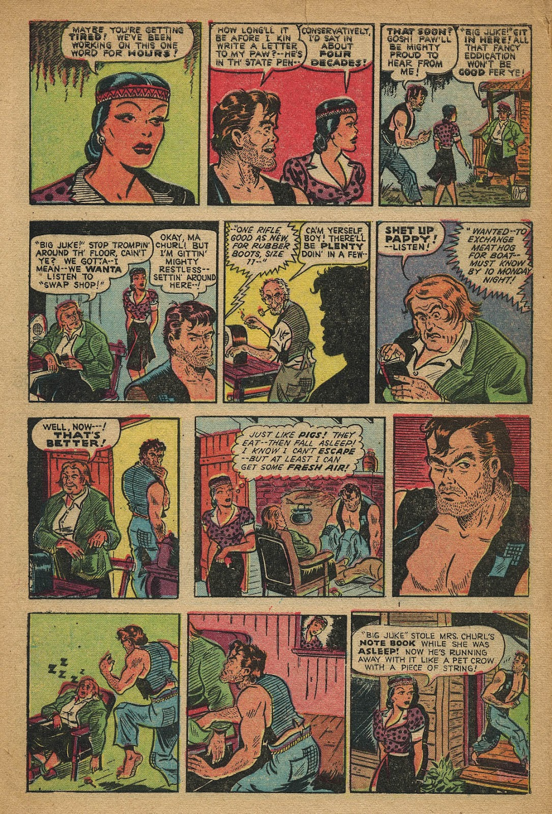Read online Famous Funnies comic -  Issue #162 - 8