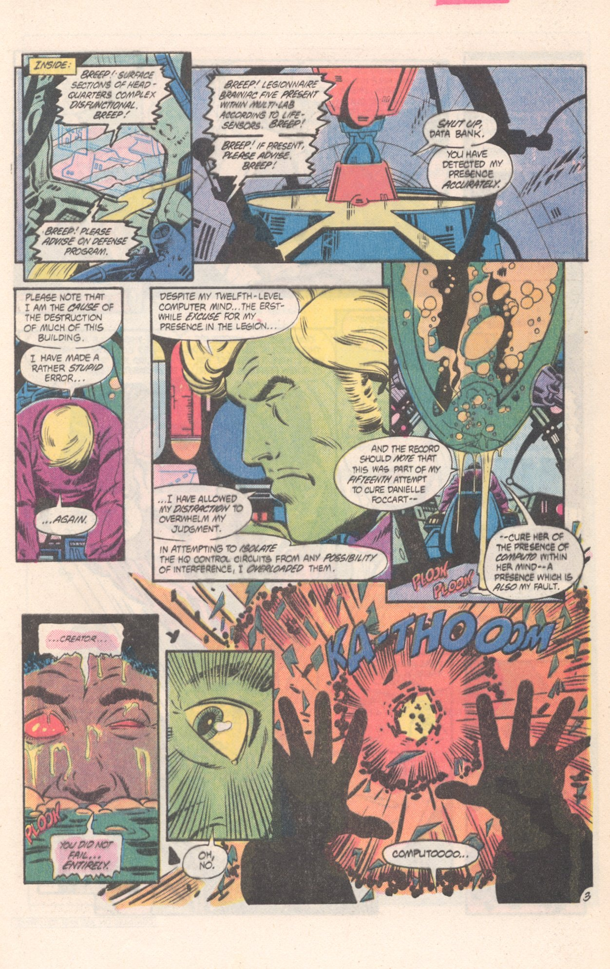 Legion of Super-Heroes (1980) 311 Page 3