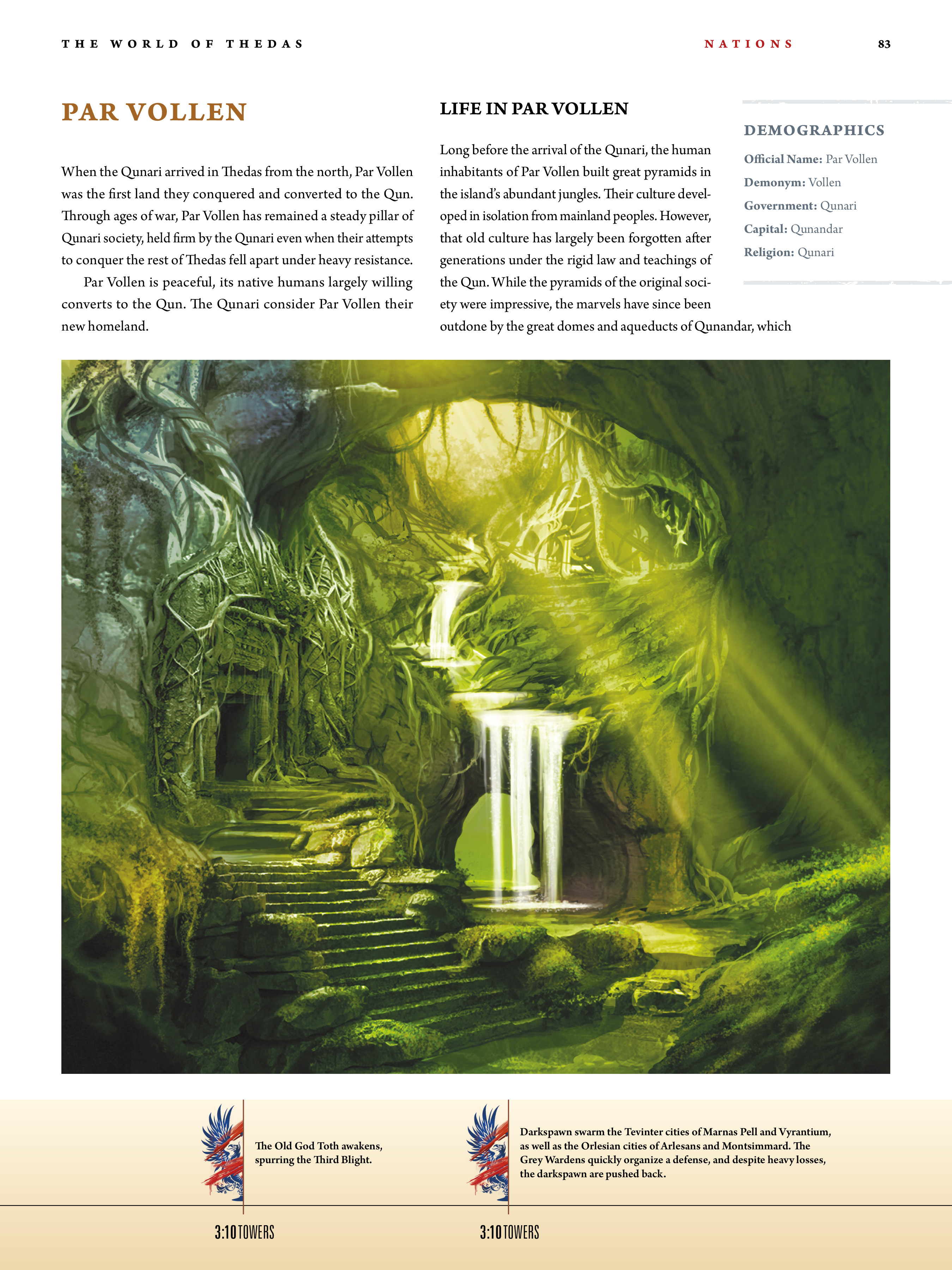 Read online Dragon Age: The World of Thedas comic -  Issue # TPB 1 - 67