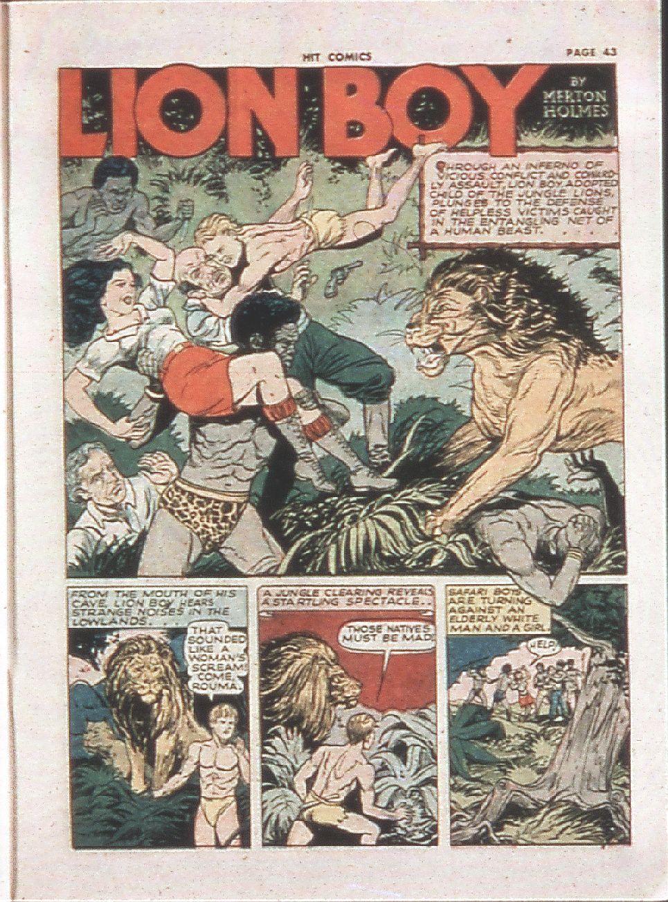 Read online Hit Comics comic -  Issue #21 - 45