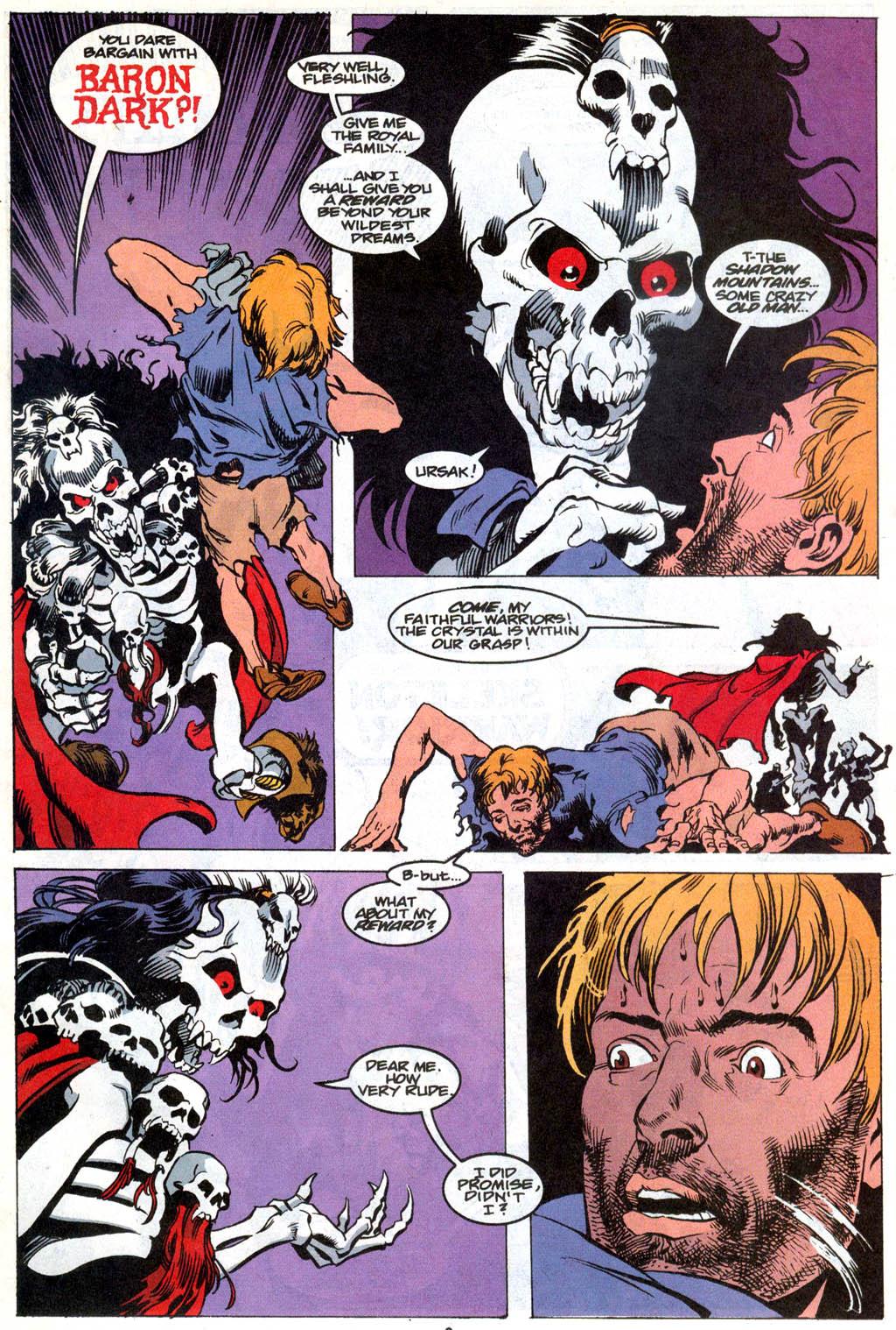 Skeleton Warriors Issue #1 #1 - English 4