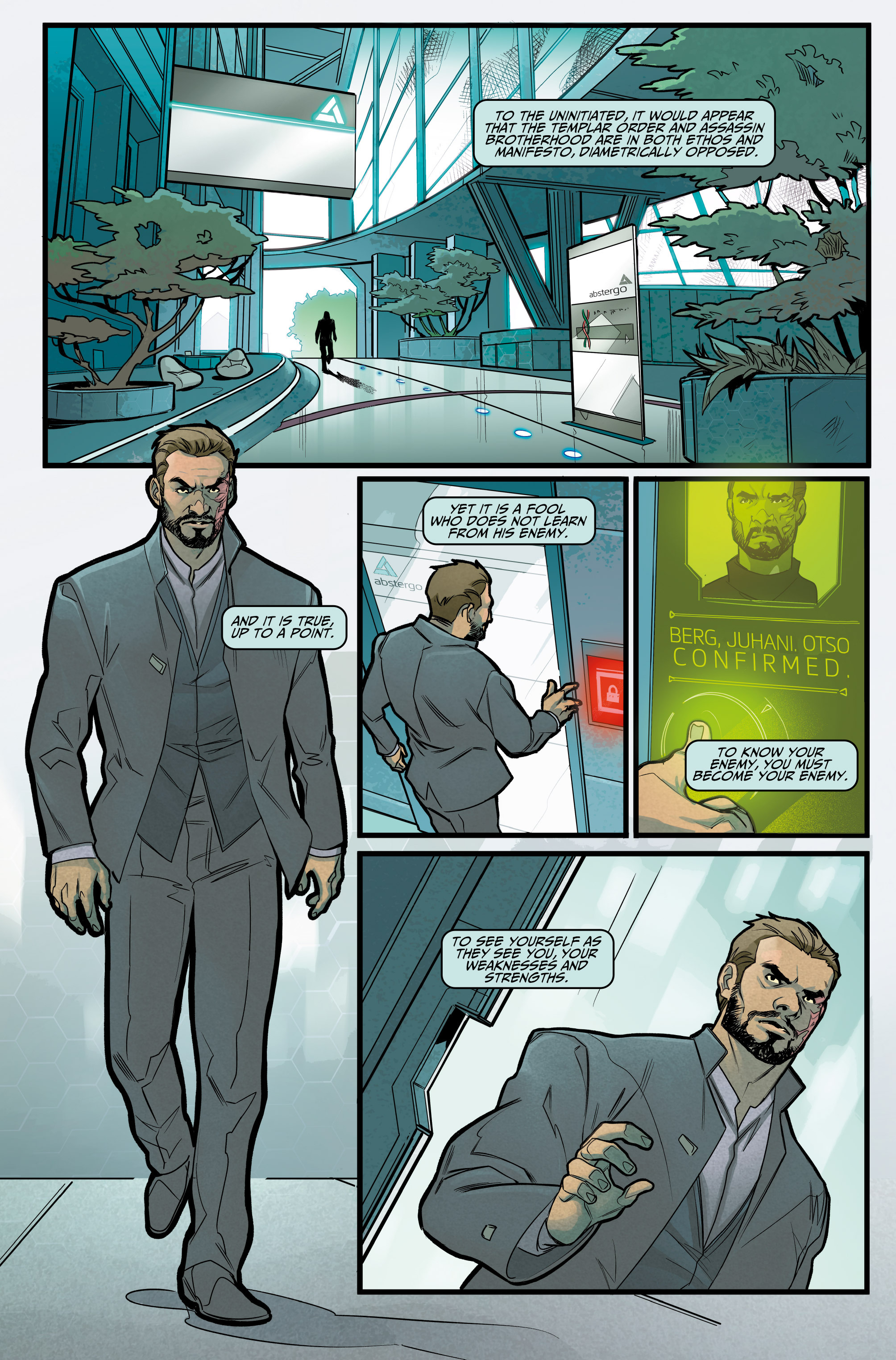 Read online Assassin's Creed: Reflections comic -  Issue #1 - 3