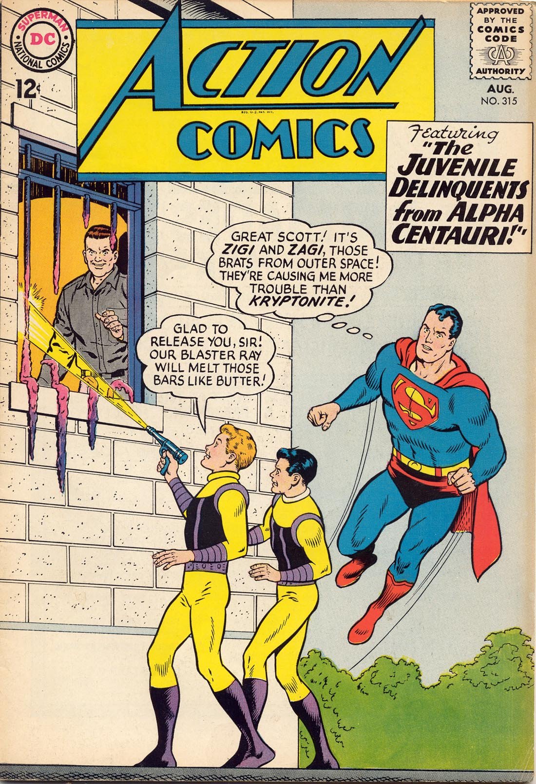 Read online Action Comics (1938) comic -  Issue #315 - 1