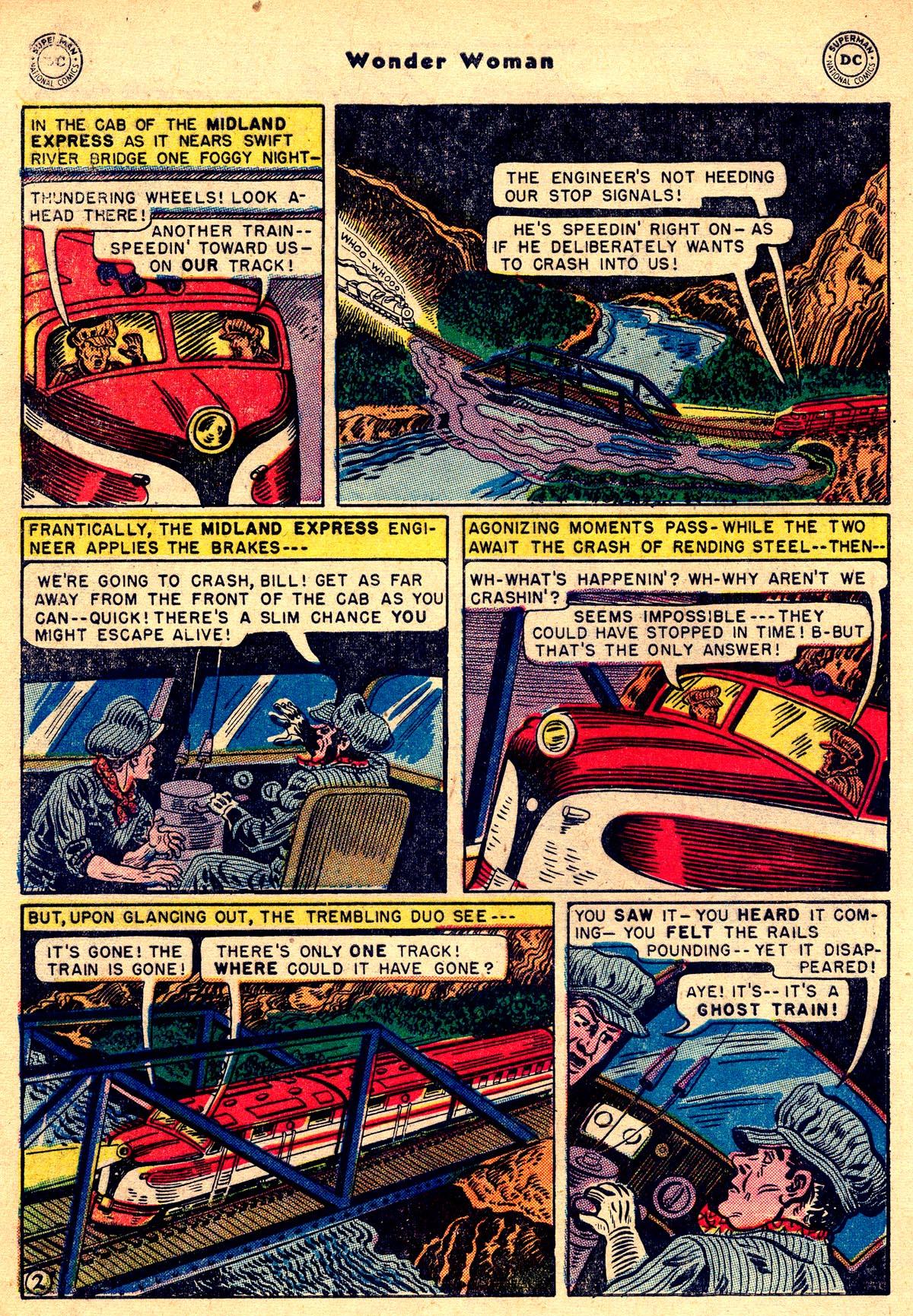 Read online Wonder Woman (1942) comic -  Issue #55 - 4