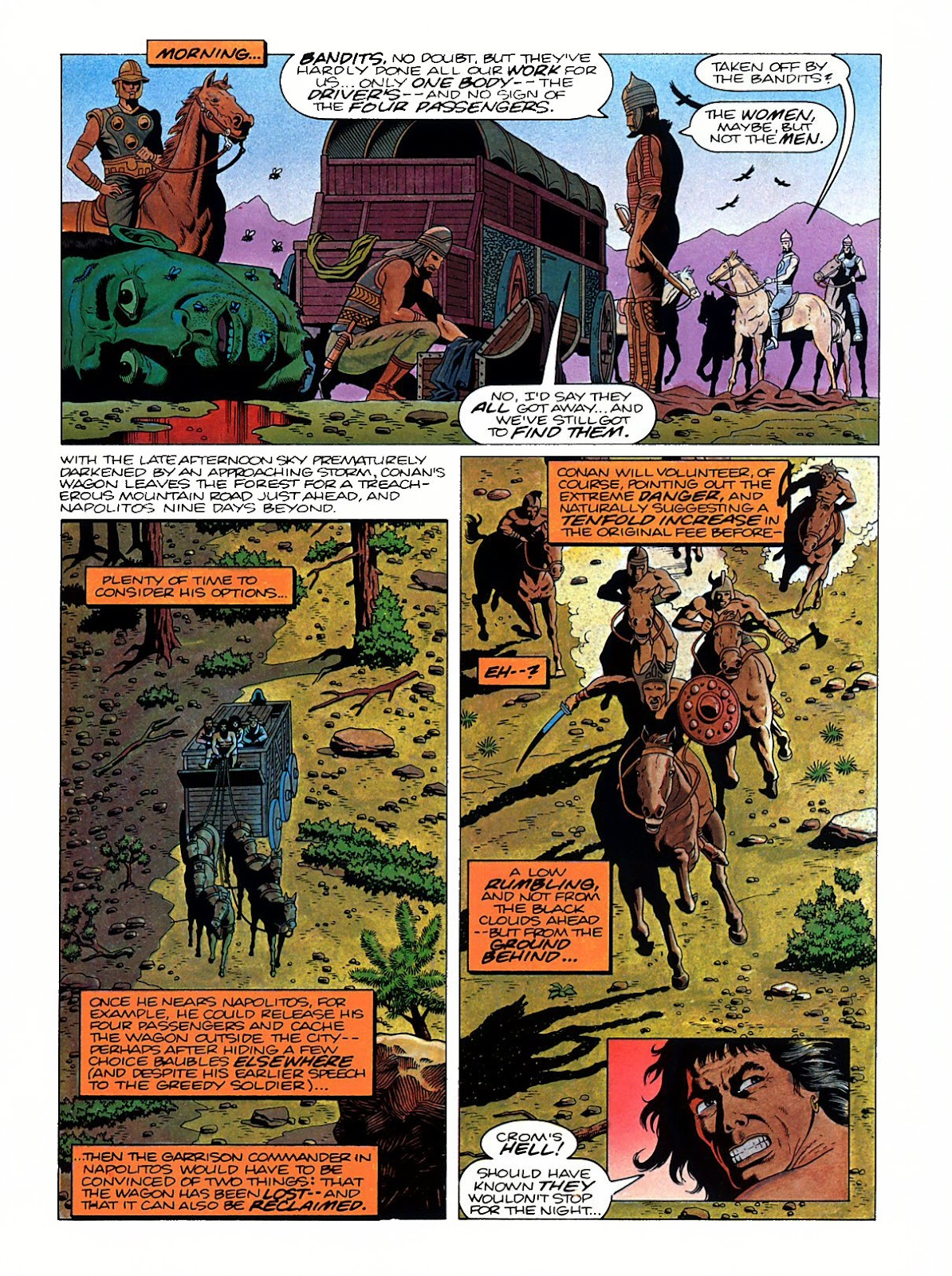 Read online Marvel Graphic Novel: Conan the Barbarian: The Skull of Set comic -  Issue # Full - 26