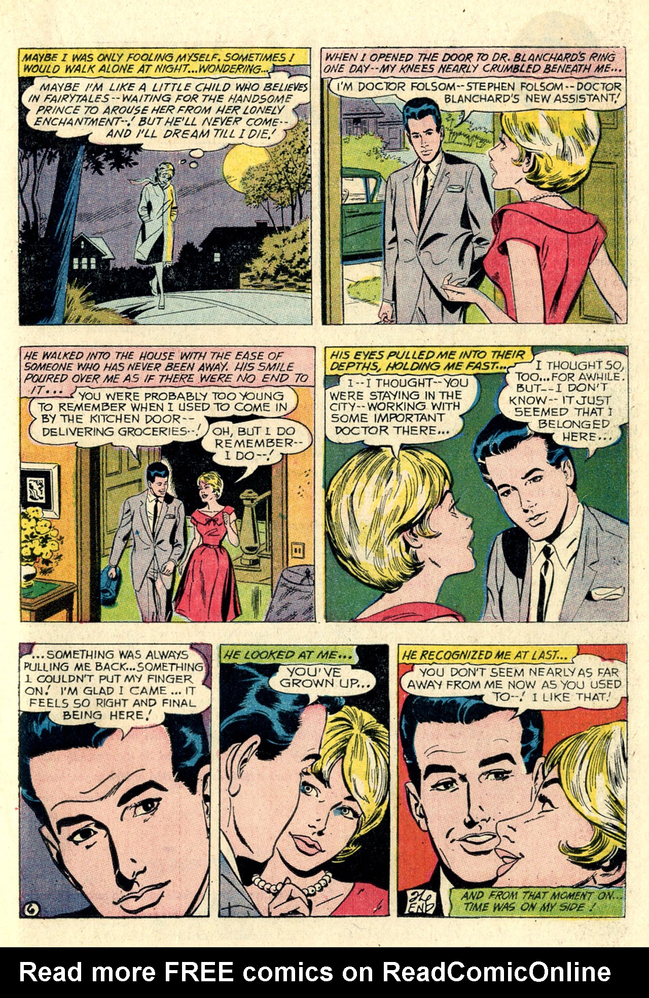 Read online Secret Hearts comic -  Issue #127 - 17