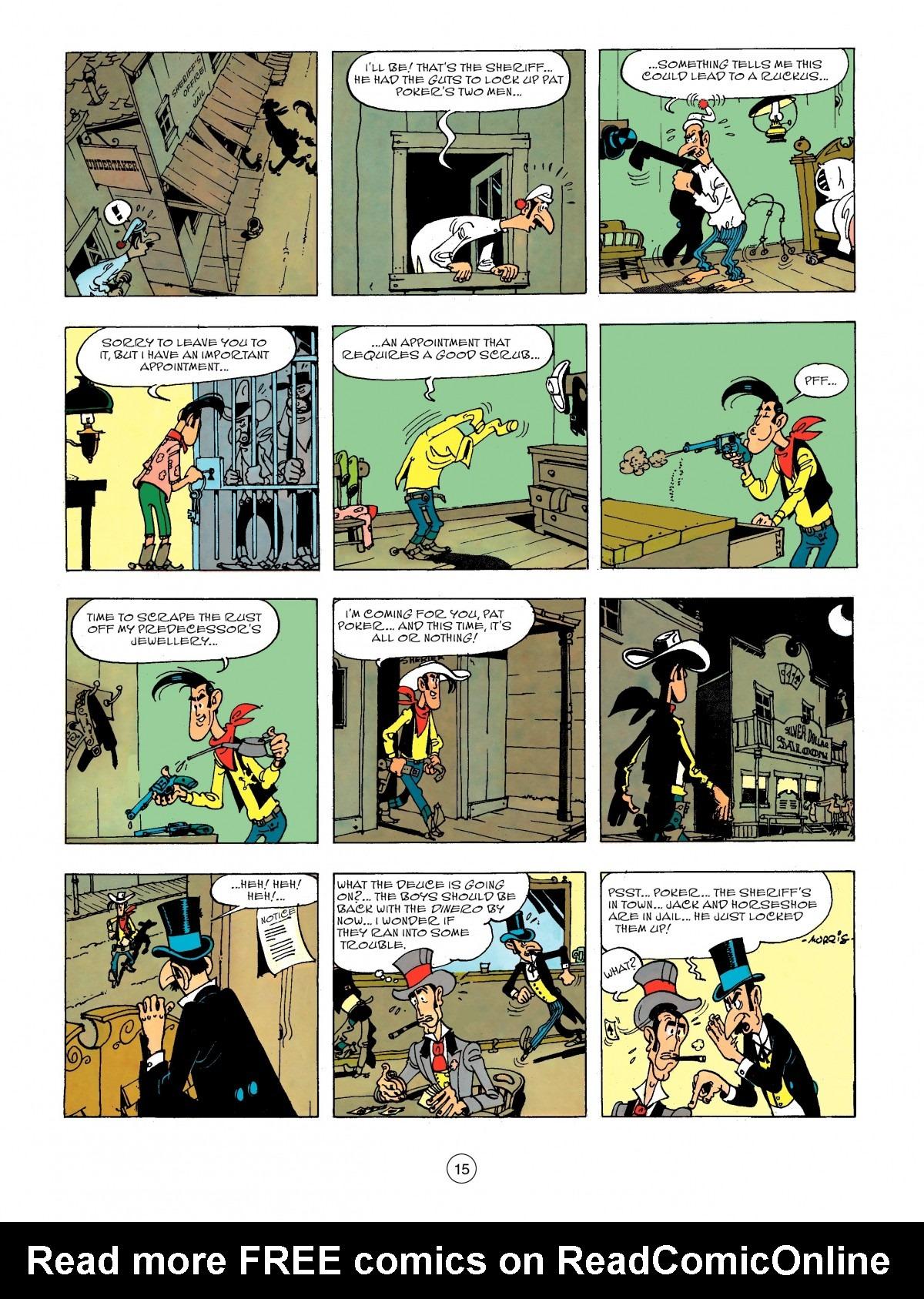 Read online A Lucky Luke Adventure comic -  Issue #44 - 15