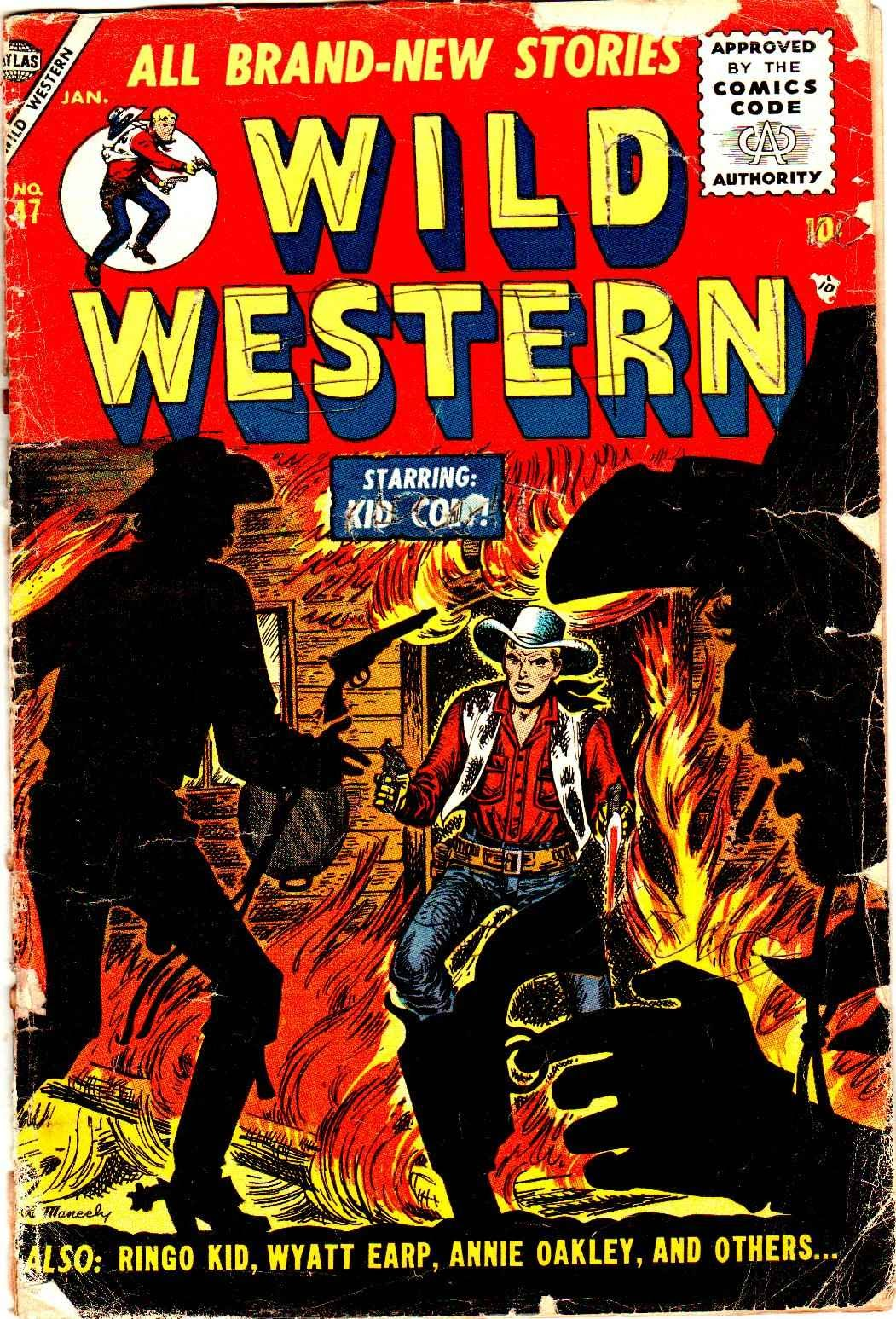 Wild Western 47 Page 1