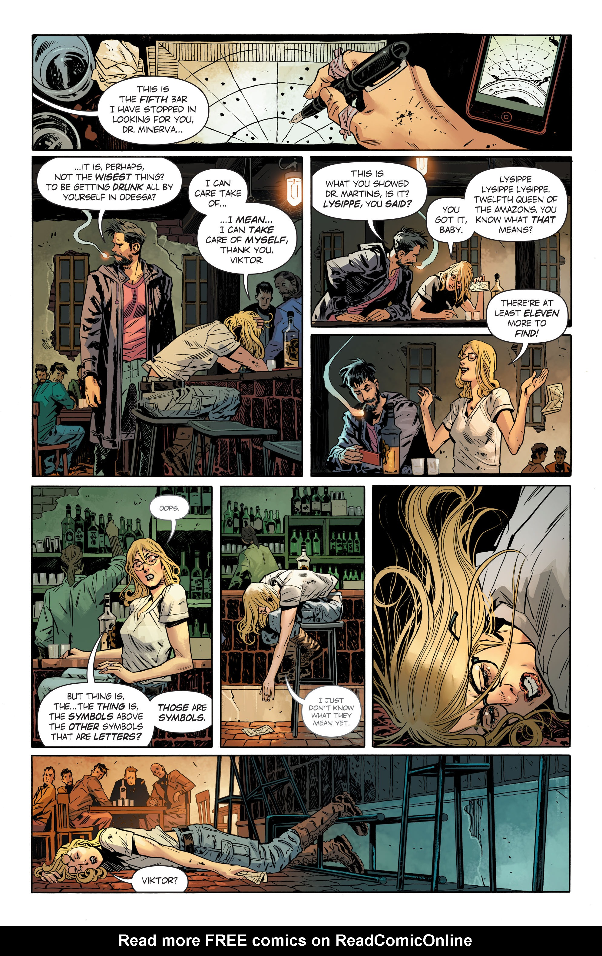 Read online Wonder Woman (2016) comic -  Issue #8 - 15