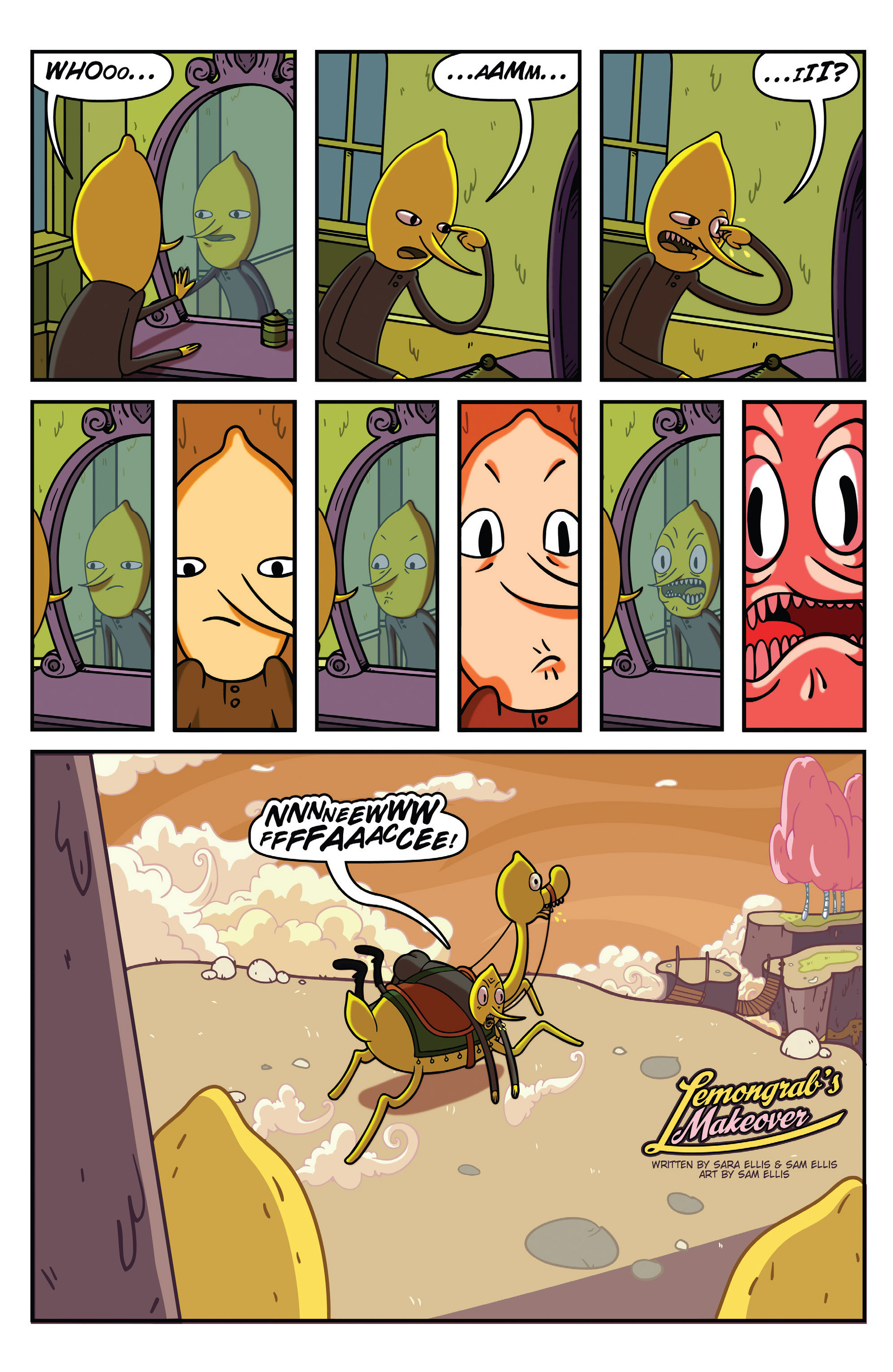 Read online Adventure Time comic -  Issue #31 - 19