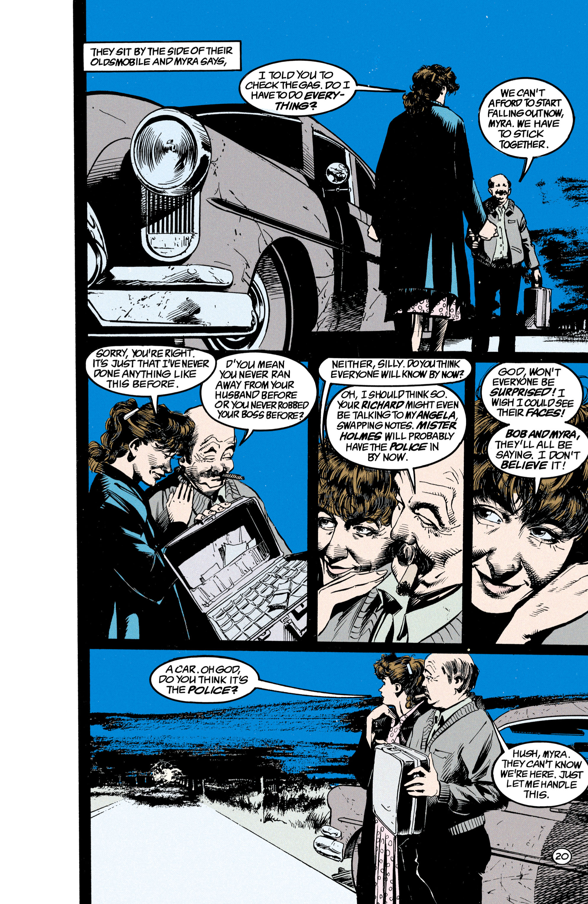 Read online Shade, the Changing Man comic -  Issue #23 - 21