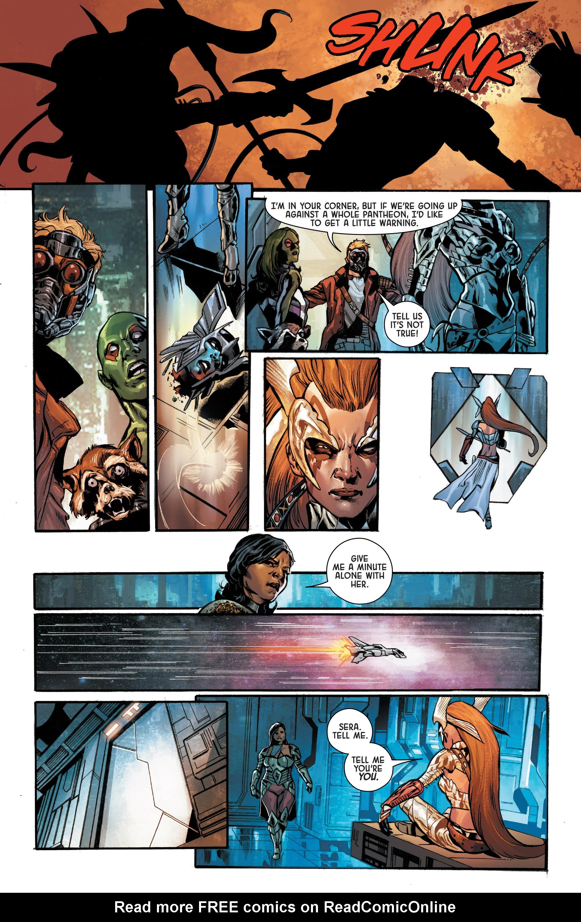 Read online Angela: Asgard's Assassin comic -  Issue #4 - 13