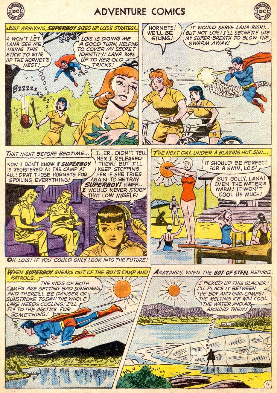 Read online Adventure Comics (1938) comic -  Issue #261 - 6