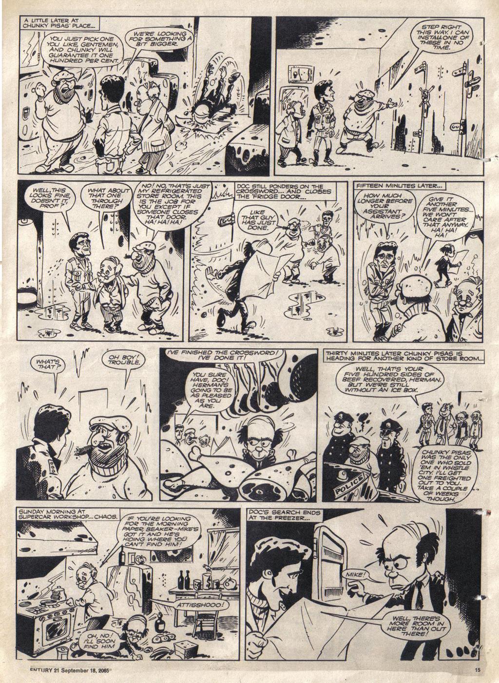 Read online TV Century 21 (TV 21) comic -  Issue #35 - 14