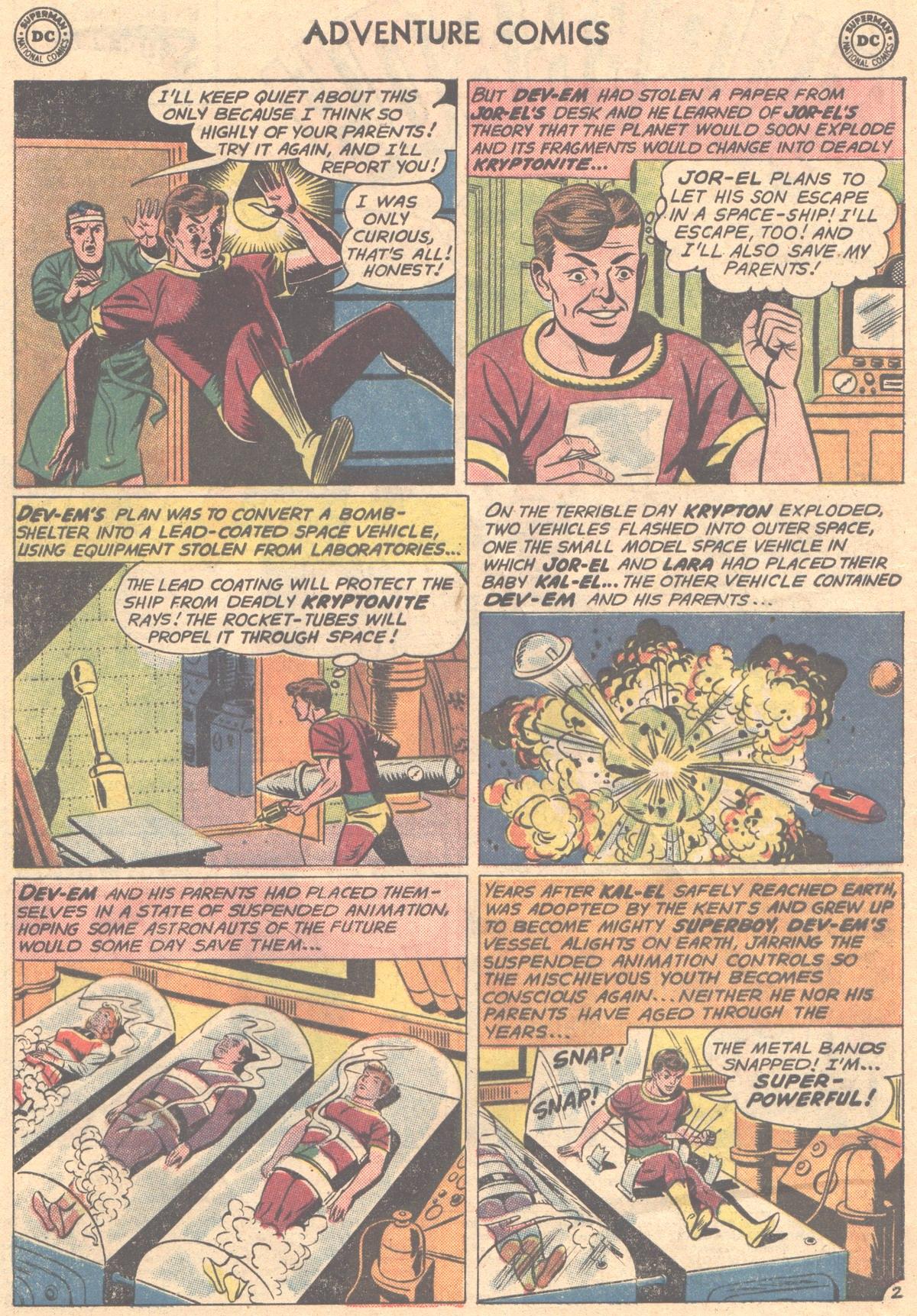 Read online Adventure Comics (1938) comic -  Issue #288 - 4