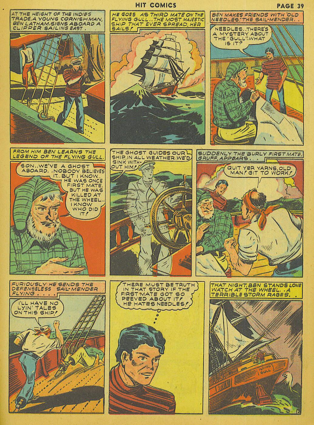 Read online Hit Comics comic -  Issue #13 - 41
