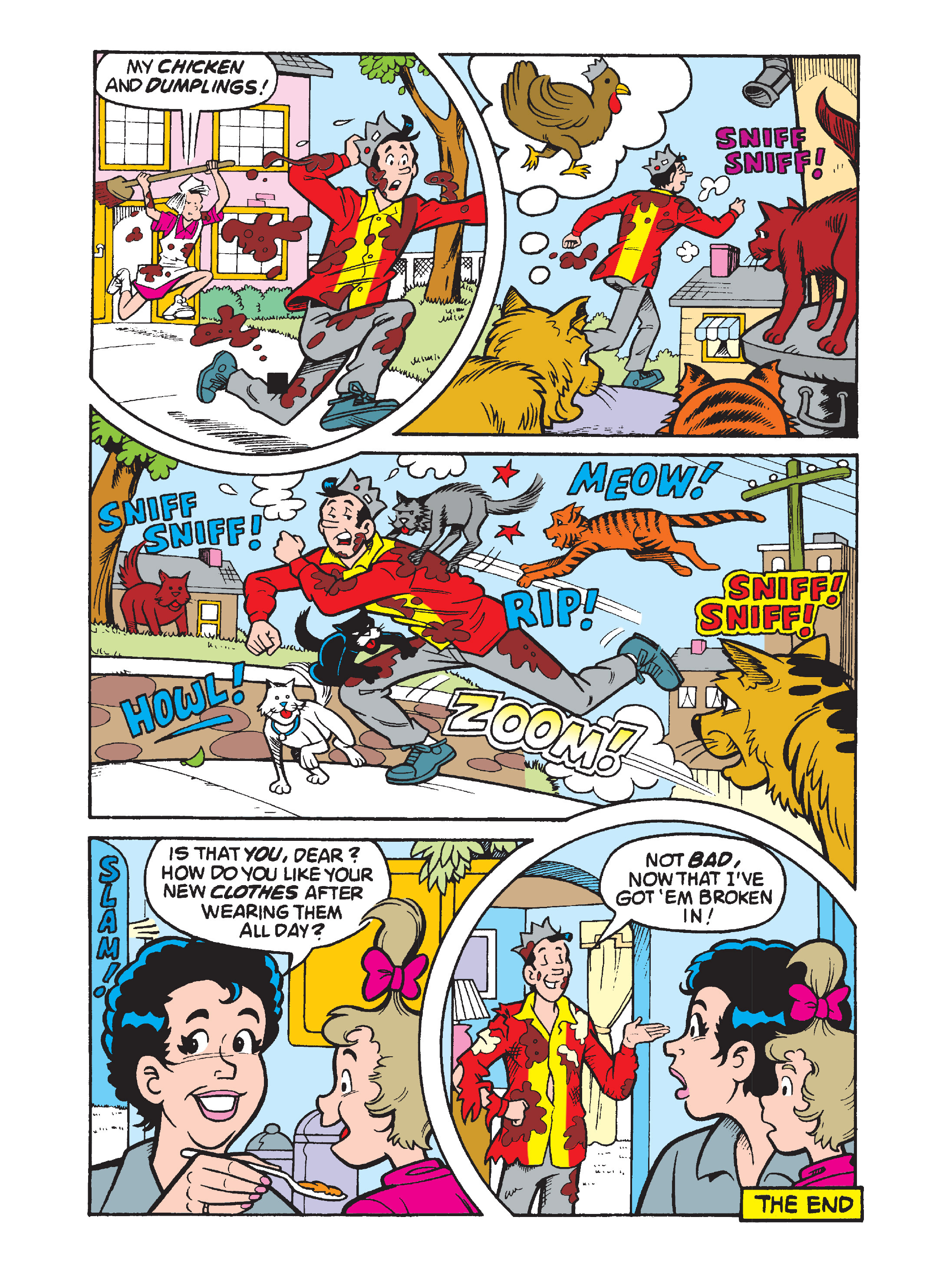 Read online Archie's Funhouse Double Digest comic -  Issue #8 - 110