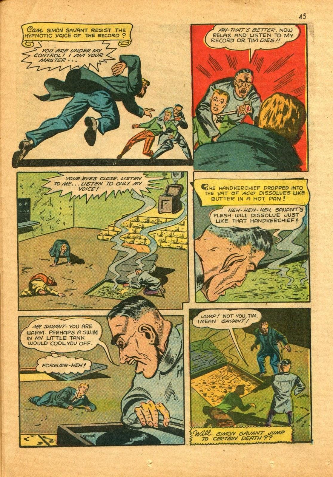 Read online Super-Magician Comics comic -  Issue #11 - 45