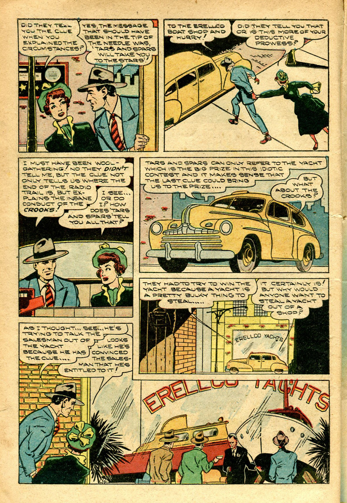 Read online Shadow Comics comic -  Issue #96 - 12