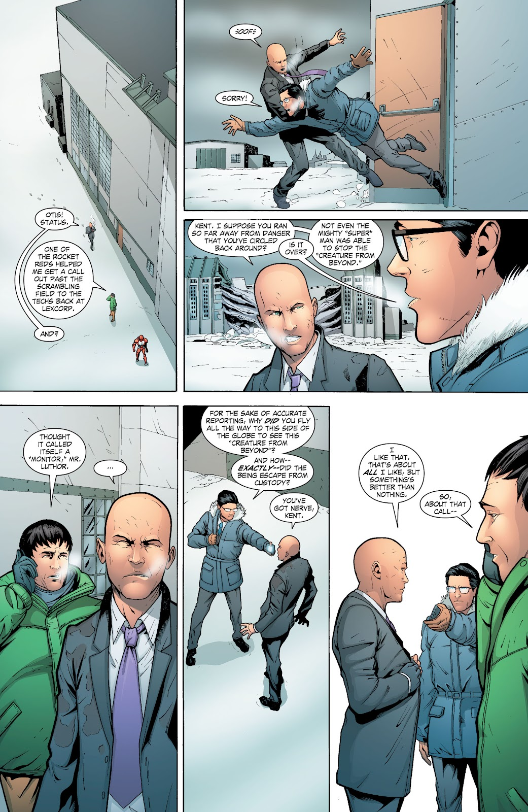 Read online Smallville Season 11 [II] comic -  Issue # TPB 6 - 117