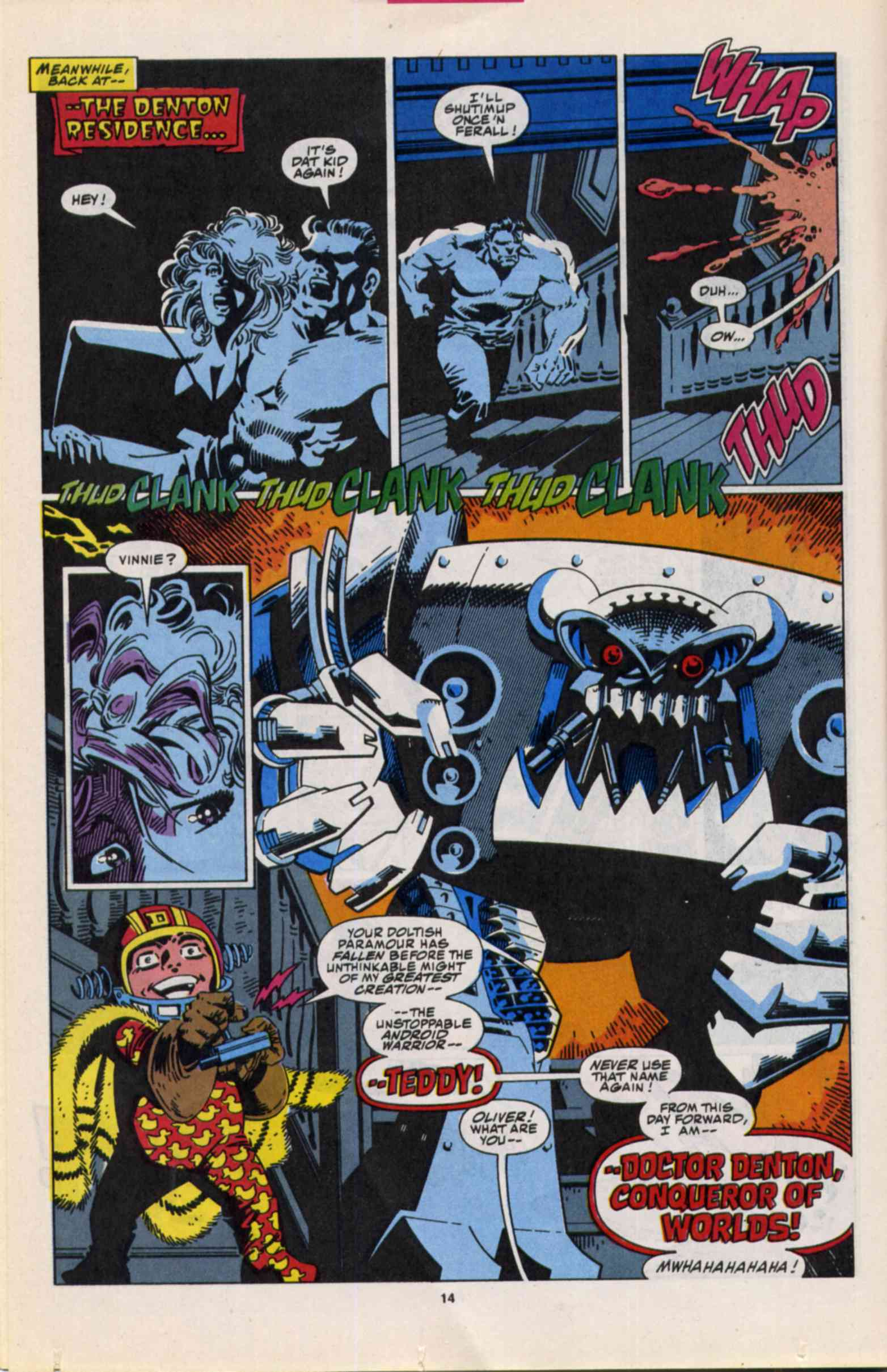 Read online Slapstick comic -  Issue #3 - 11