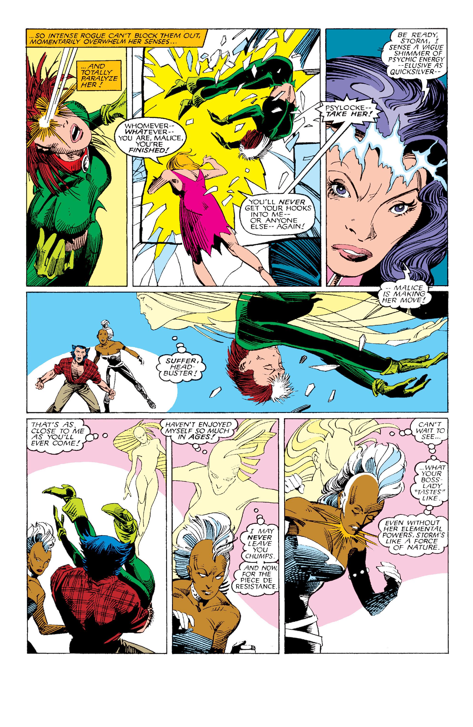 Read online Uncanny X-Men (1963) comic -  Issue #214 - 19