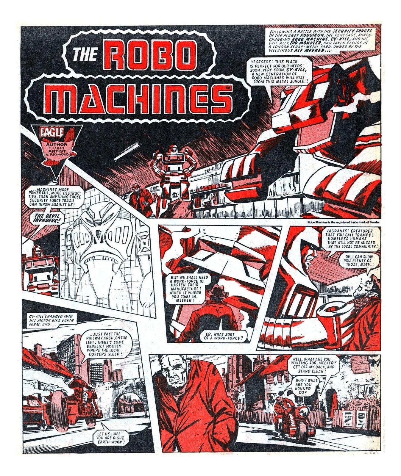 Read online Robo Machines comic -  Issue # TPB - 82