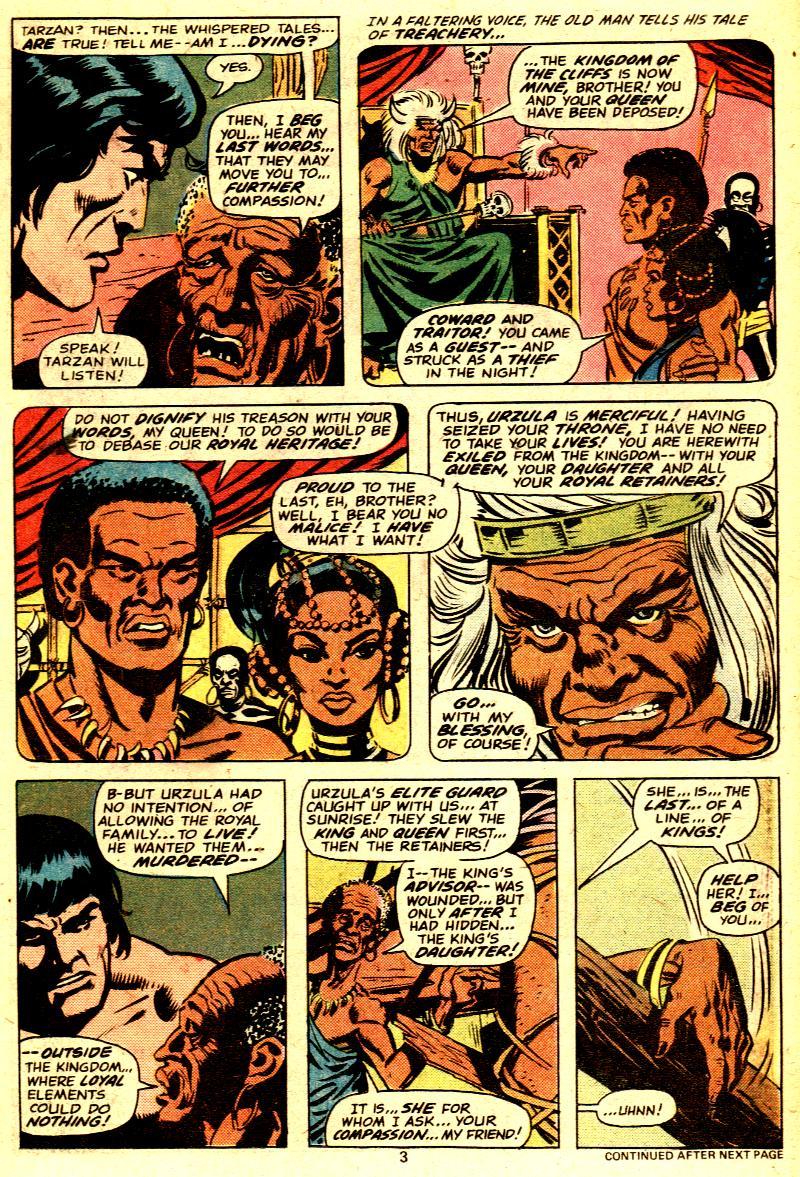Read online Tarzan (1977) comic -  Issue # _Annual 2 - 4