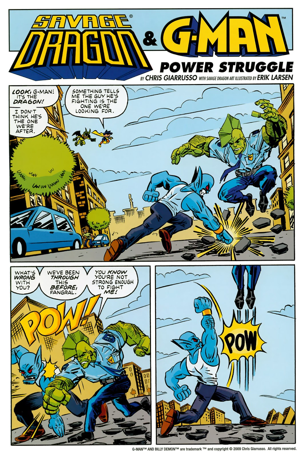 The Savage Dragon (1993) Issue #150 #153 - English 45