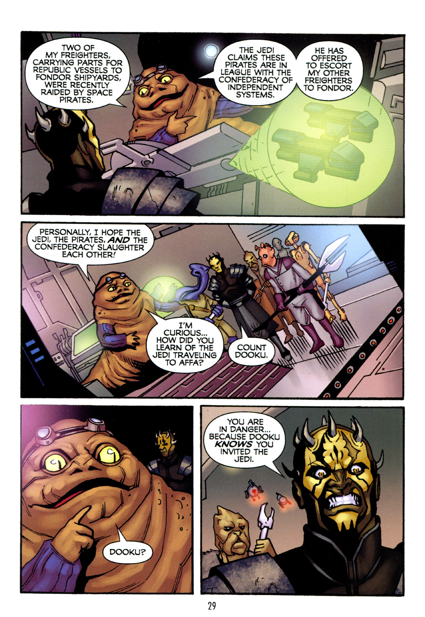 Read online Star Wars: The Clone Wars - Strange Allies comic -  Issue # Full - 30
