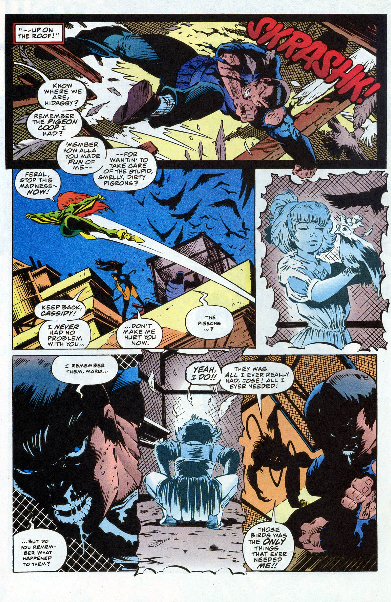 Read online X-Force (1991) comic -  Issue #41 - 20