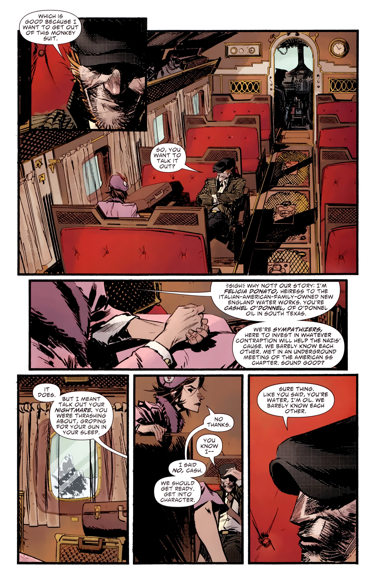 Read online American Vampire: Survival of the Fittest comic -  Issue #2 - 7