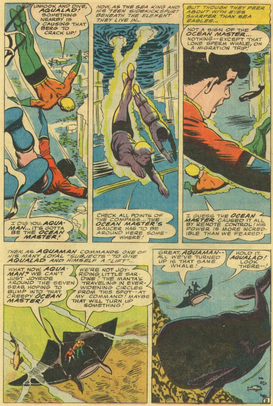 Read online Aquaman (1962) comic -  Issue #29 - 16