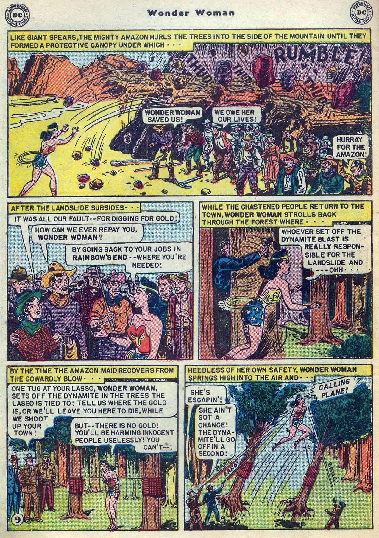 Read online Wonder Woman (1942) comic -  Issue #53 - 40