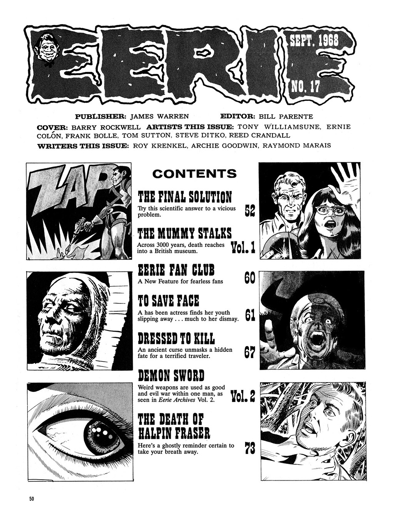 Read online Eerie Archives comic -  Issue # TPB 4 - 51