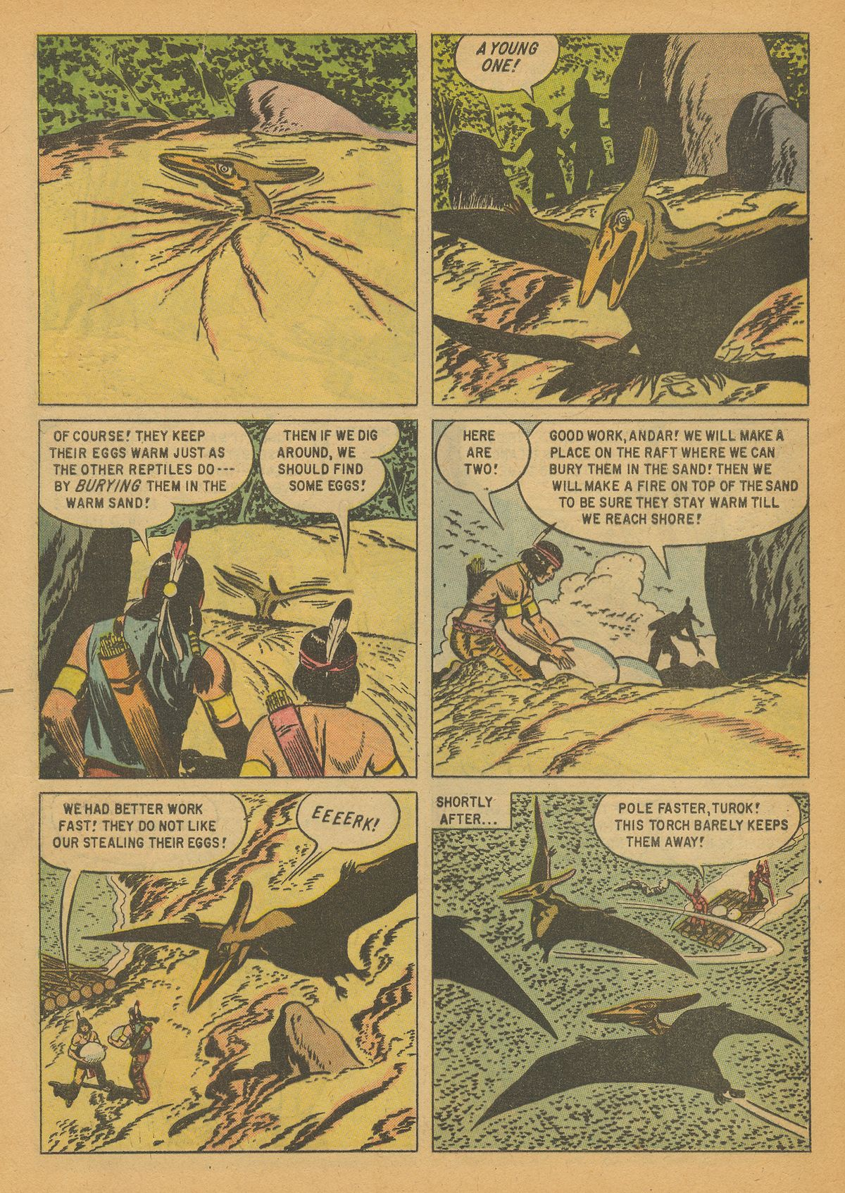 Read online Turok, Son of Stone comic -  Issue #14 - 32